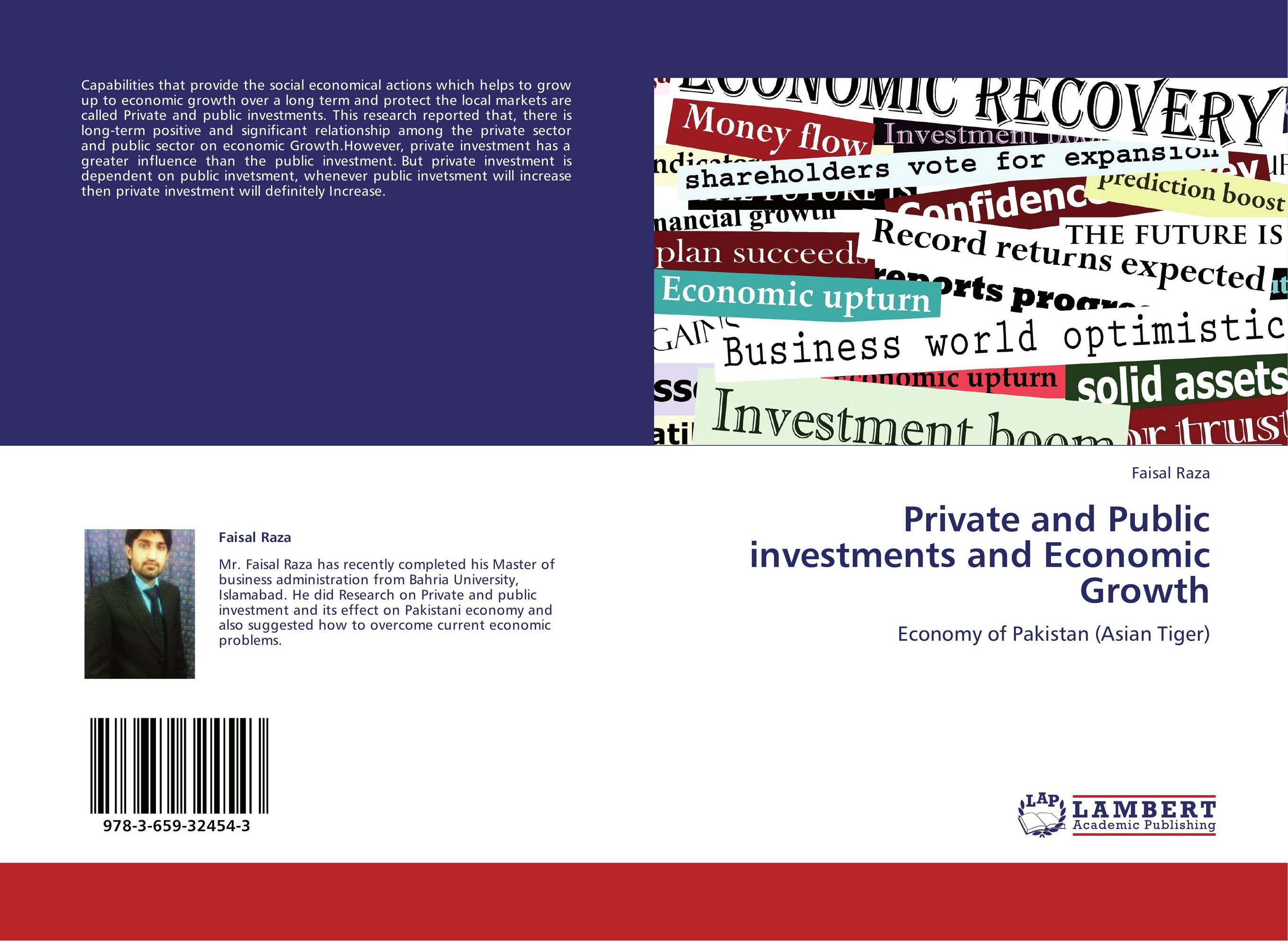 Private and Public investments and Economic Growth