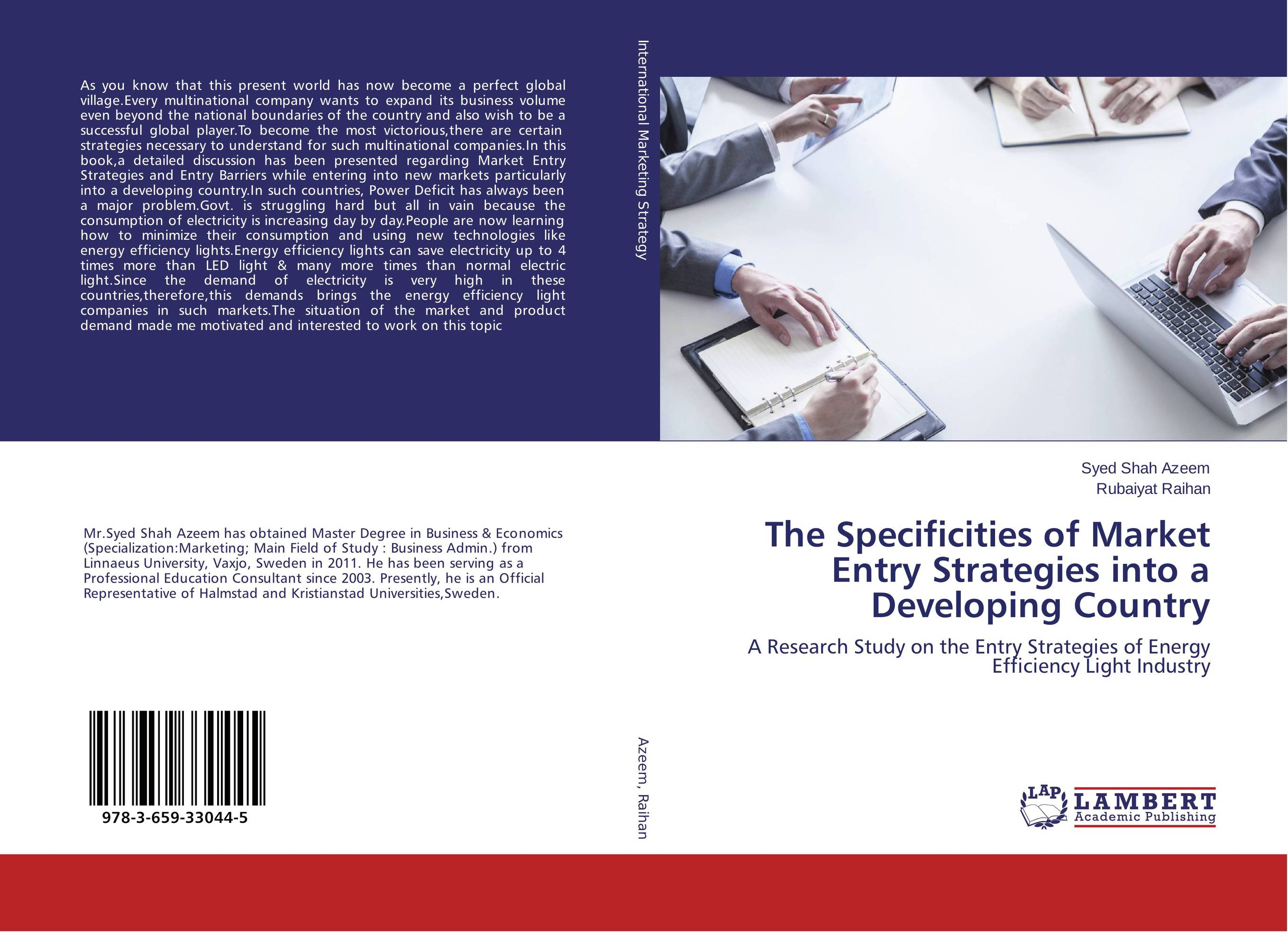 The Specificities of Market Entry Strategies into a Developing Country