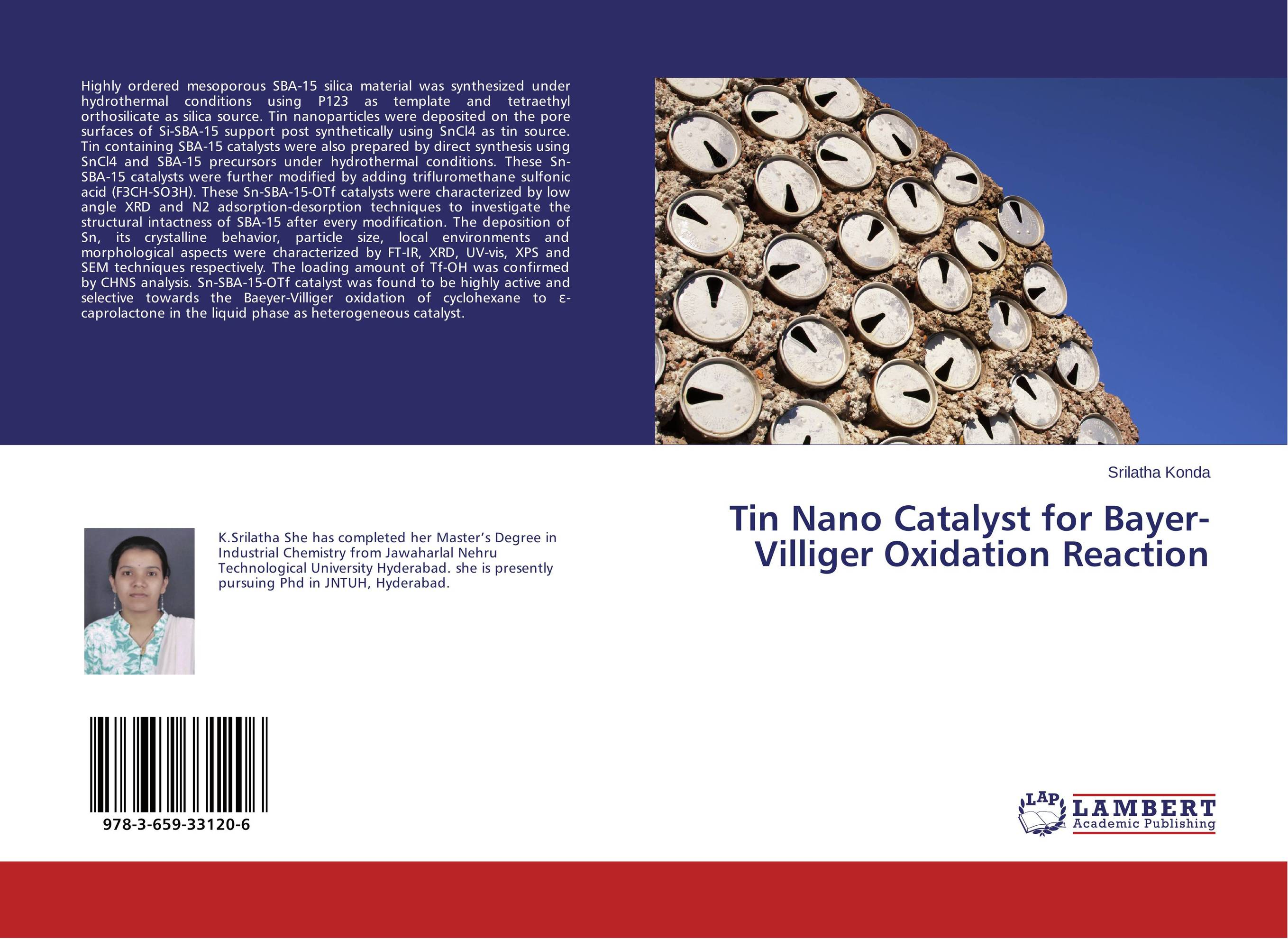 Tin Nano Catalyst for Bayer-Villiger Oxidation Reaction hydrothermal autoclave reactor with teflon chamber hydrothermal synthesis 250ml