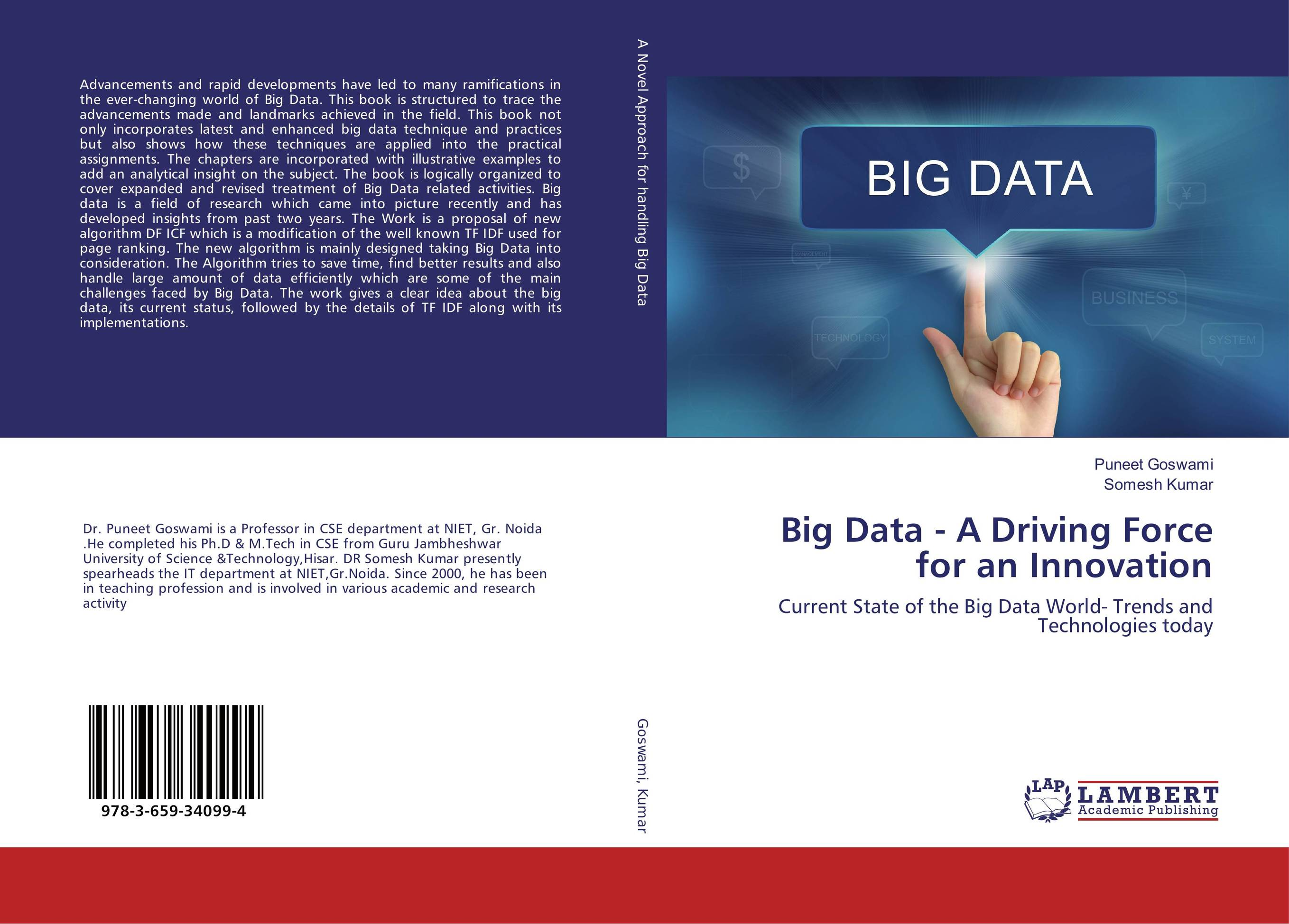 Big Data - A Driving Force for an Innovation the usborne big book of big monsters