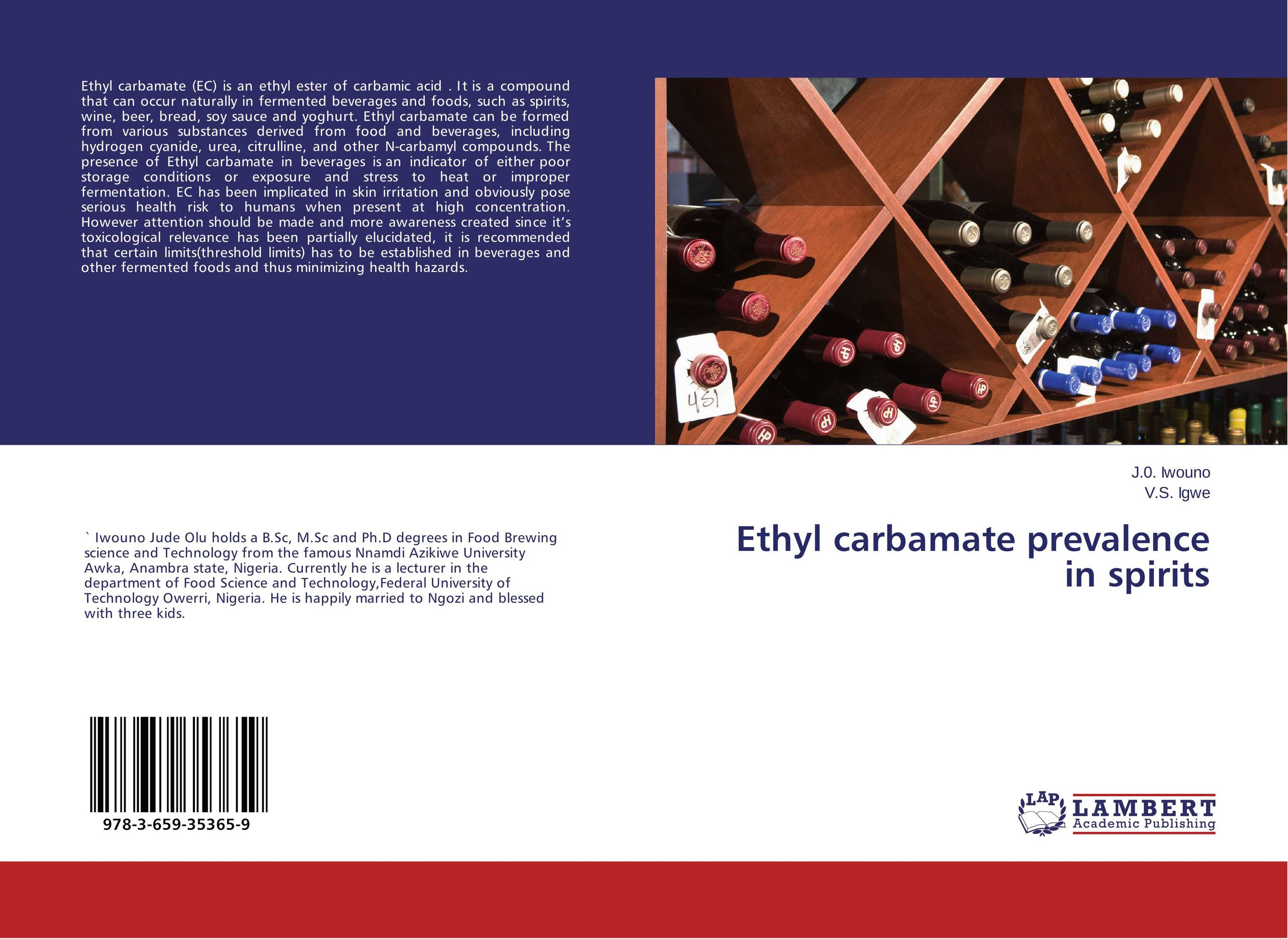 Ethyl carbamate prevalence in spirits beverages and food additives ternate pinellia extract