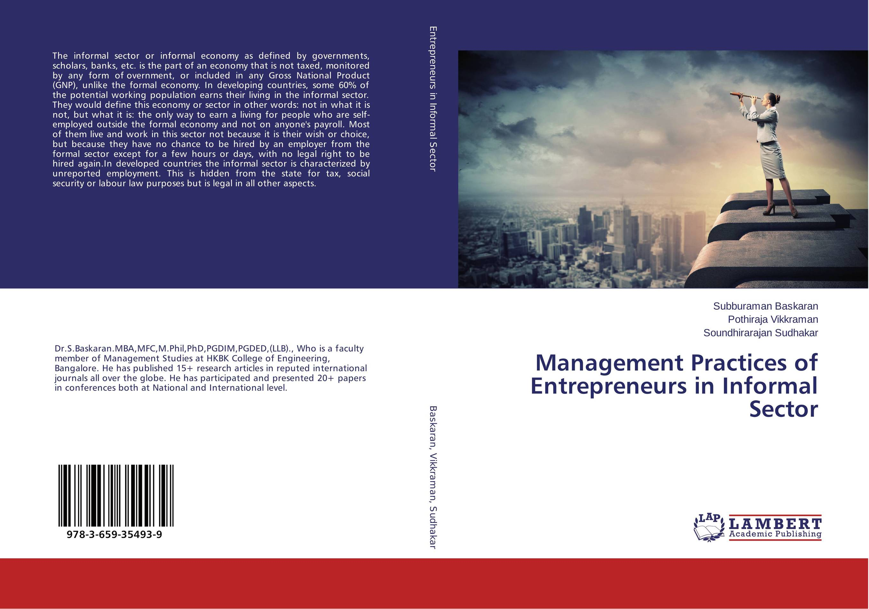 Management Practices of Entrepreneurs in Informal Sector