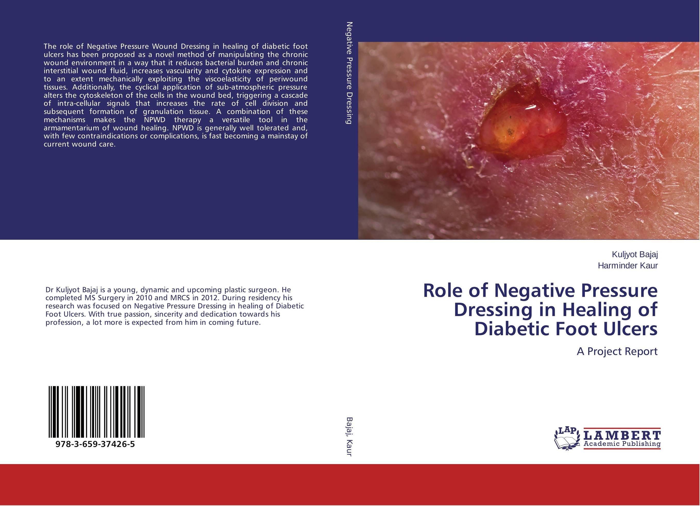Role of Negative Pressure Dressing in Healing of Diabetic Foot Ulcers healing a heart