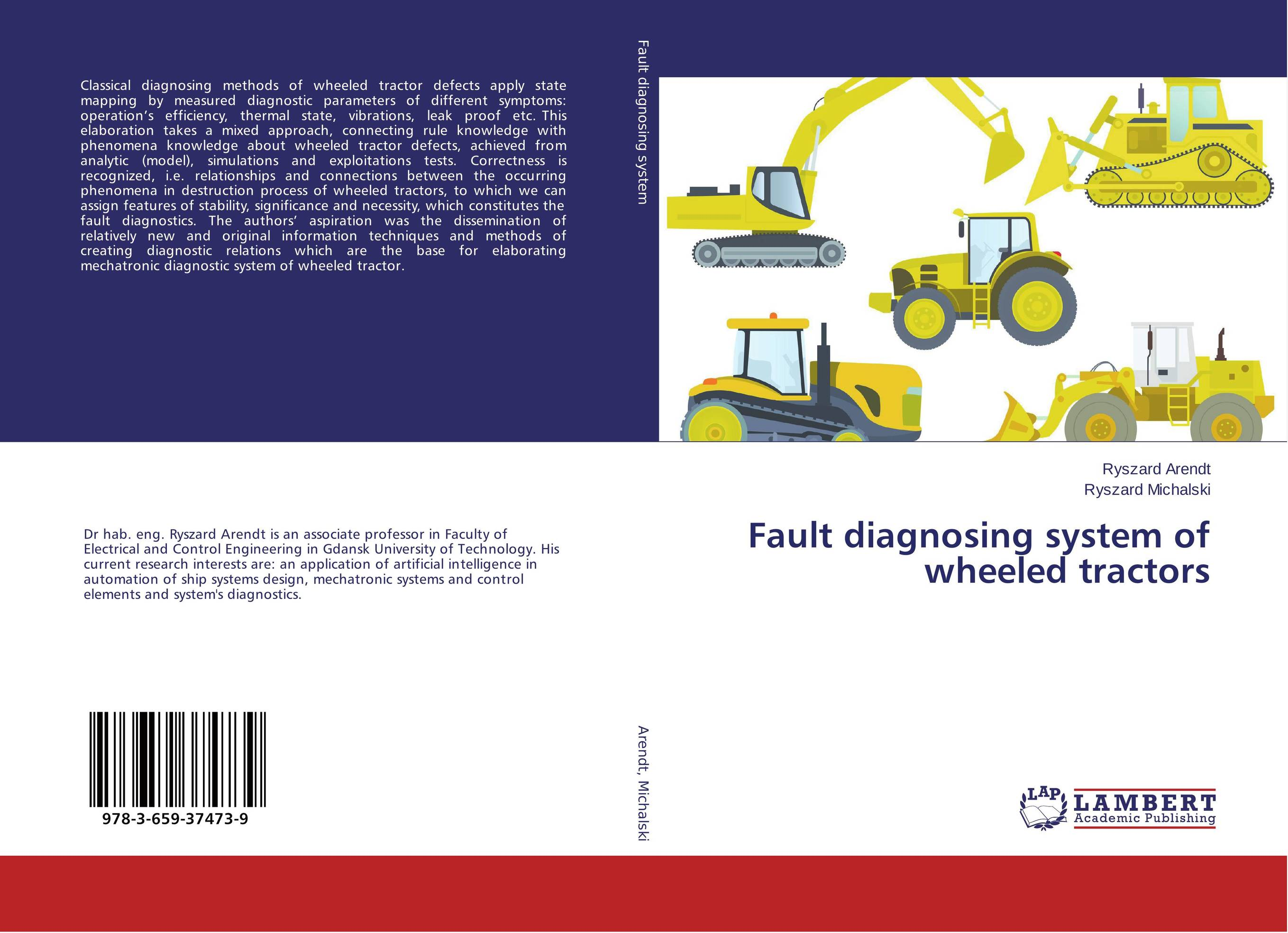 Fault diagnosing system of wheeled tractors