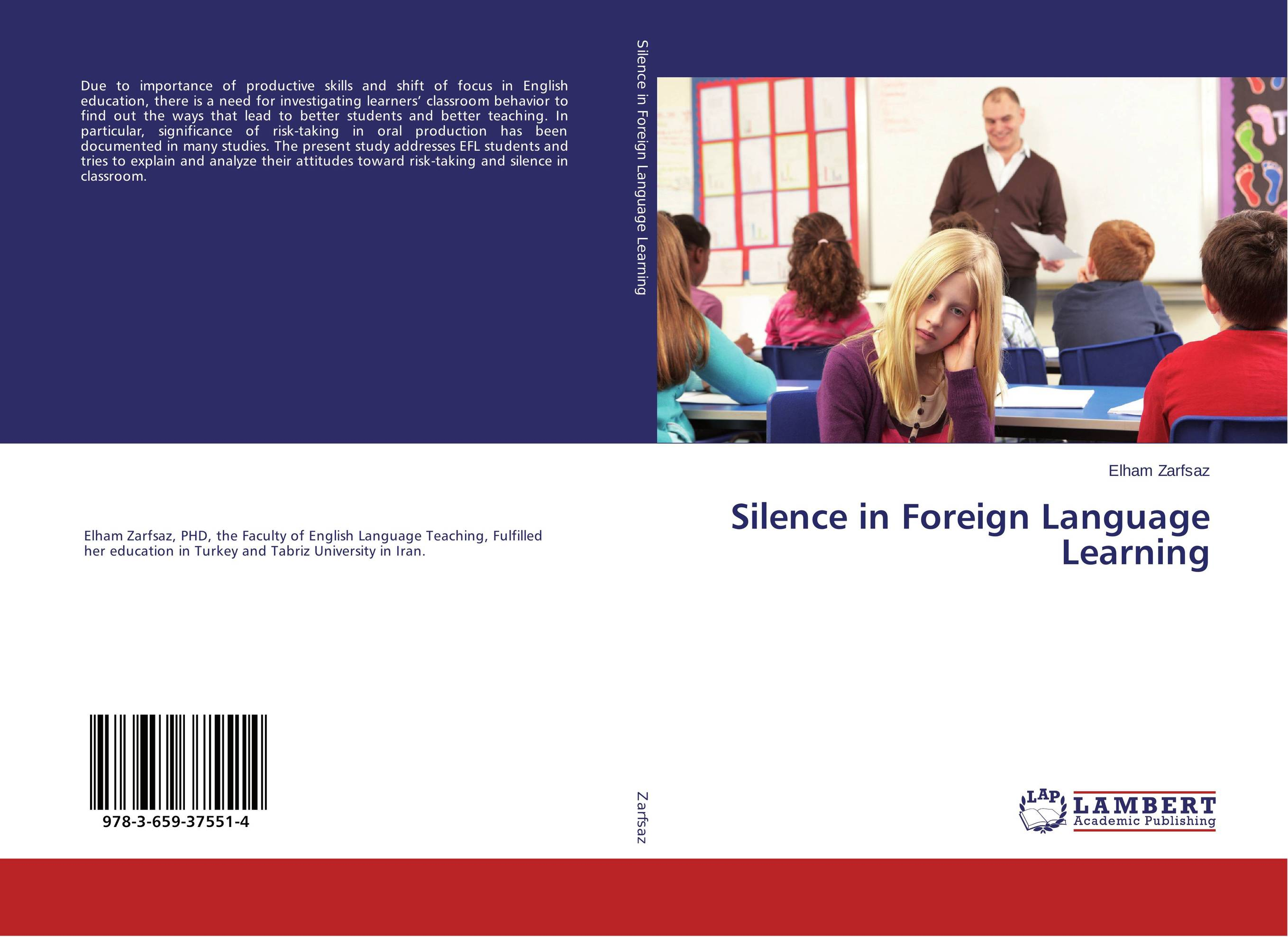 Silence in Foreign Language Learning the role of ict in the teaching of english as a foreign language efl