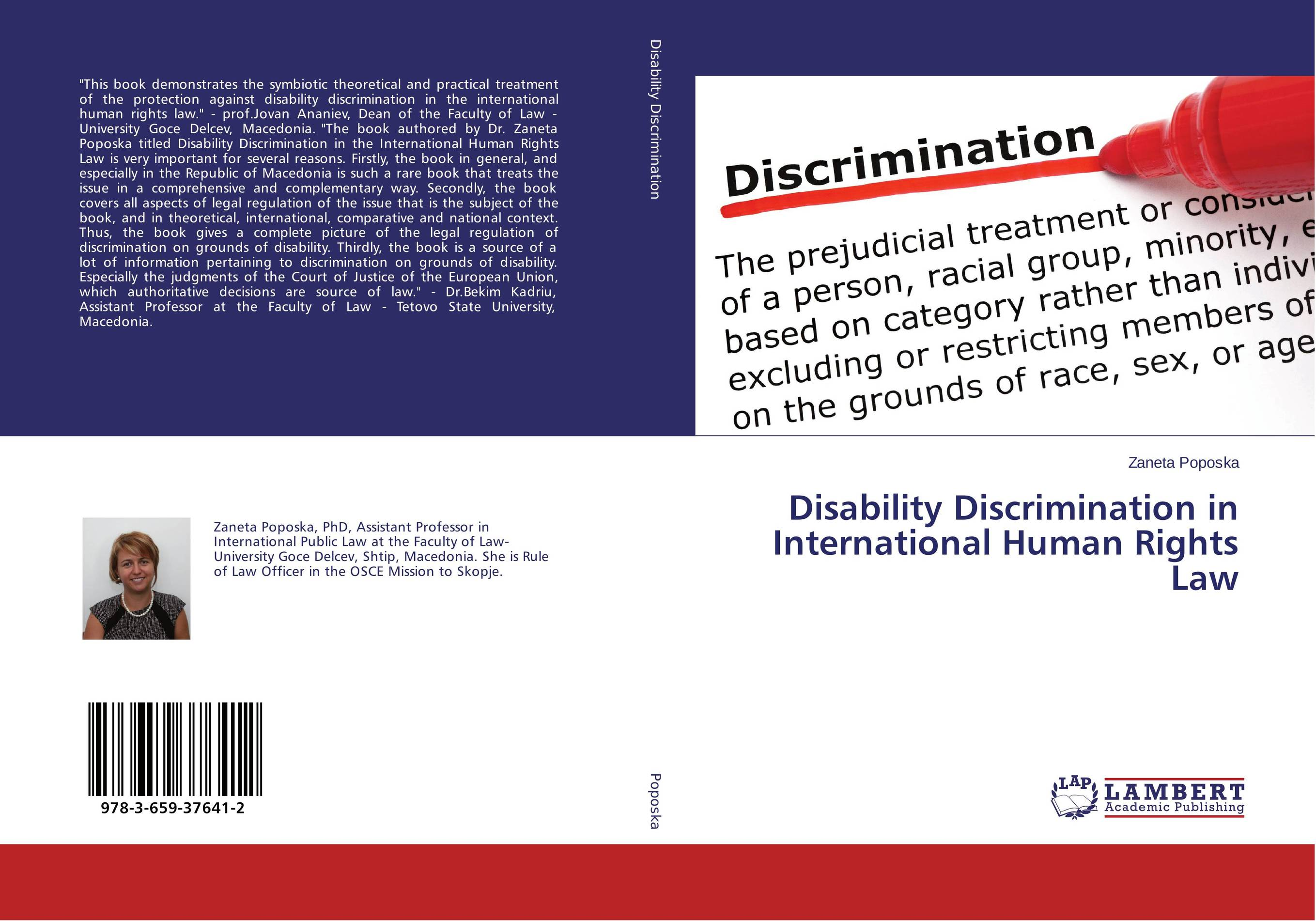 Disability Discrimination in International Human Rights Law a republic of law