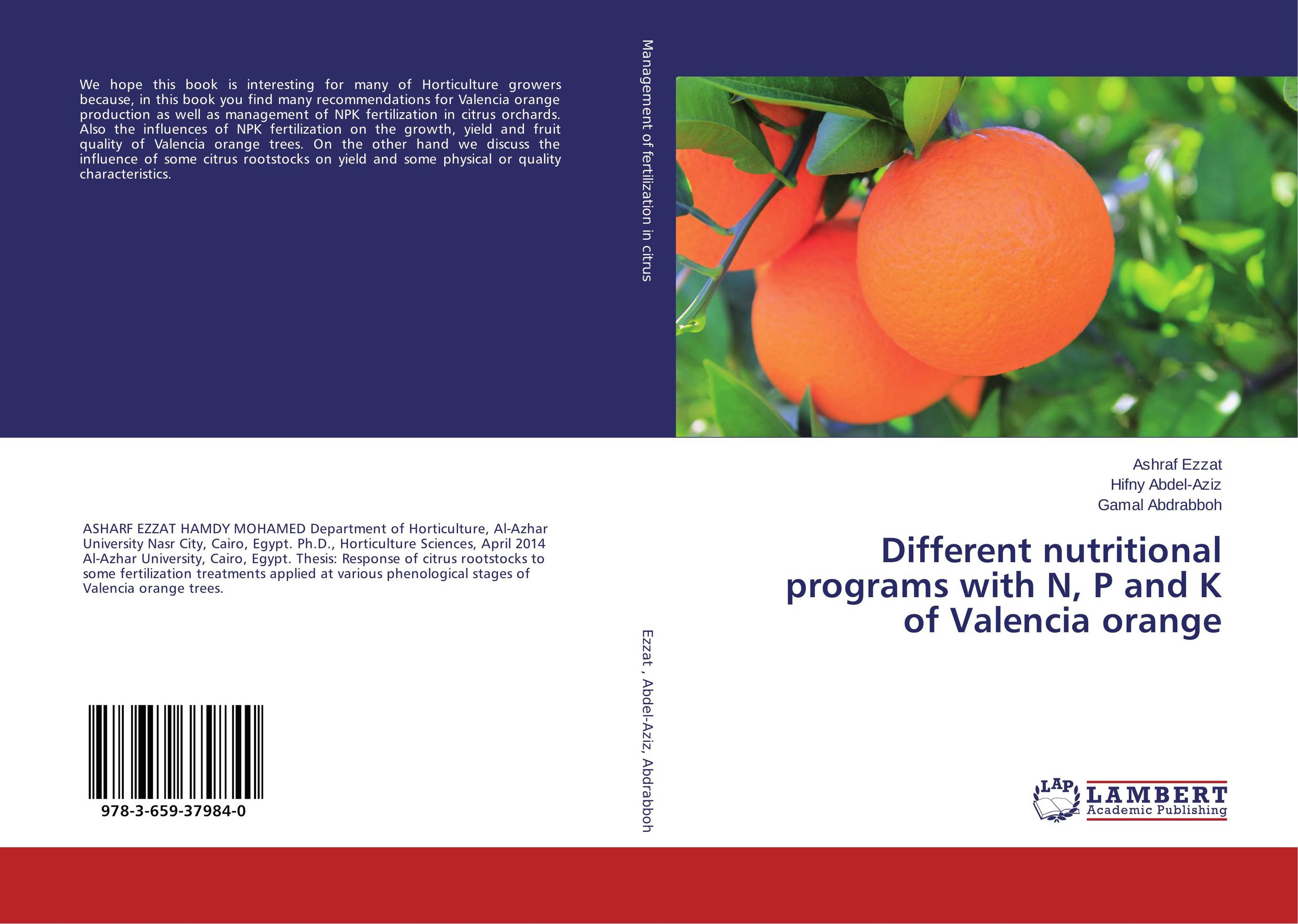 Different nutritional programs with N, P and K of Valencia orange some postpartum characteristics of rabbit doe
