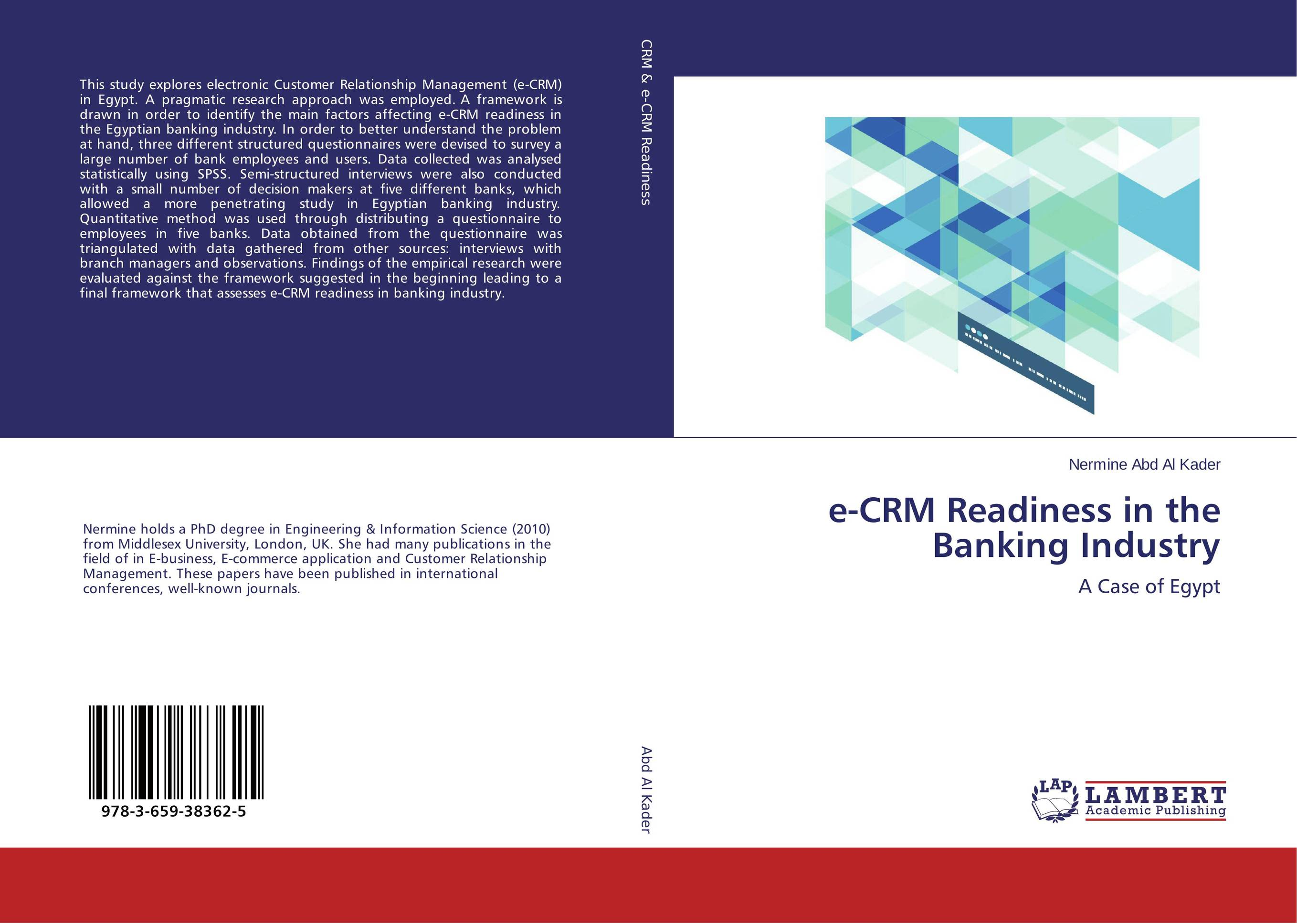 e-CRM Readiness in the Banking Industry crm emerging practices in agrochemical industry