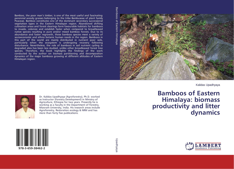 Фото Bamboos of Eastern Himalaya: biomass productivity and litter dynamics vegetation dynamics over the northeast region of brazil