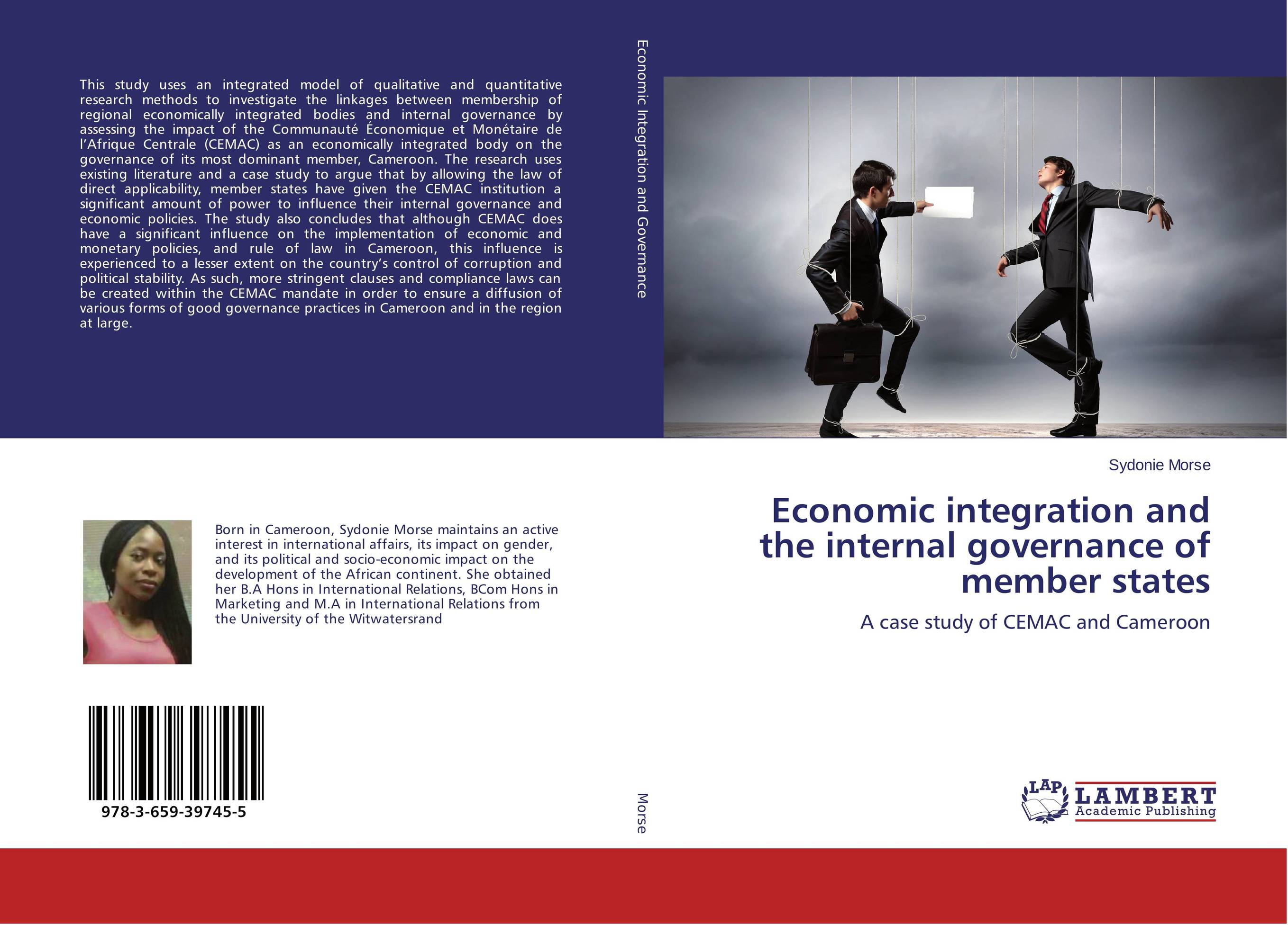 Economic integration and the internal governance of member states evaluation of the internal control practices