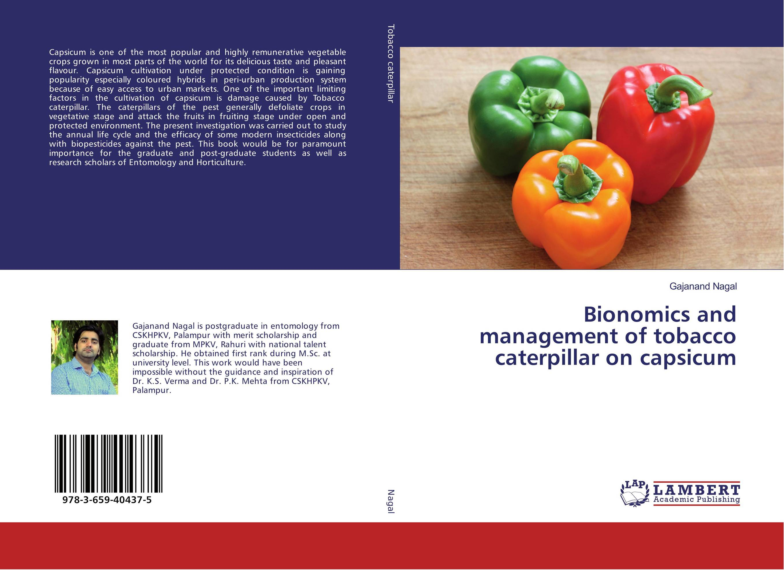 Bionomics and management of tobacco caterpillar on capsicum studies on grafting in some vegetable crops
