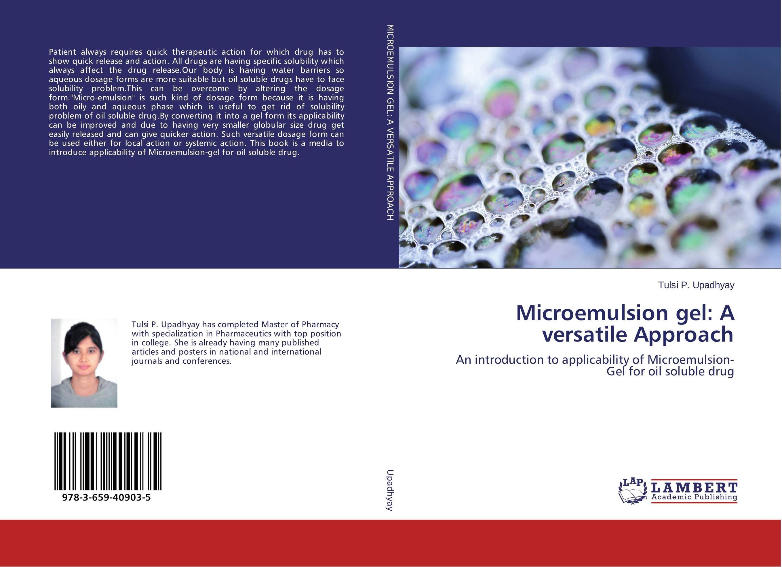 Microemulsion gel: A versatile Approach alex avdeef absorption and drug development solubility permeability and charge state