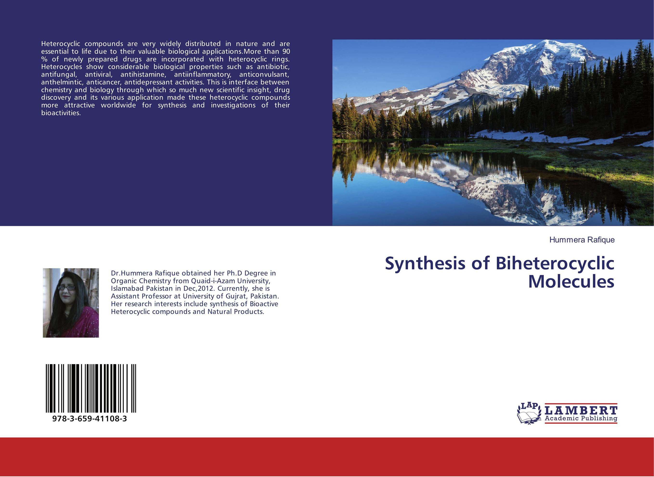 Synthesis of Biheterocyclic Molecules medicinal chemistry of heterocyclic natural compounds