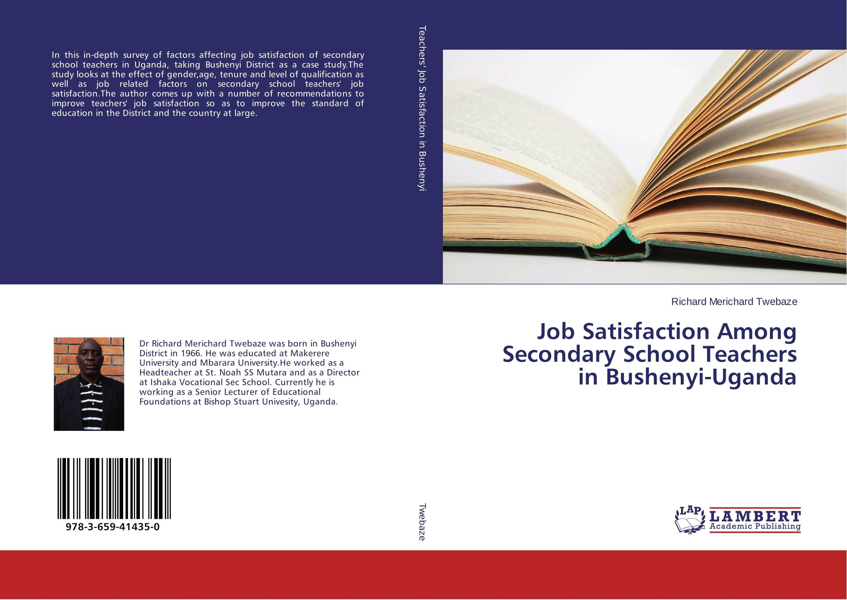 Job Satisfaction Among Secondary School Teachers in Bushenyi-Uganda district substructures as agents of local governance