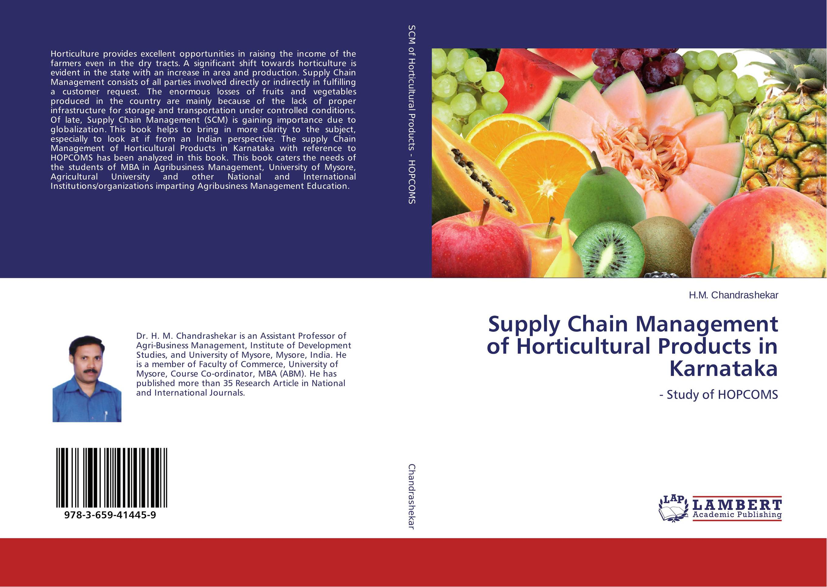 Supply Chain Management of Horticultural Products in Karnataka dairy supply chain management