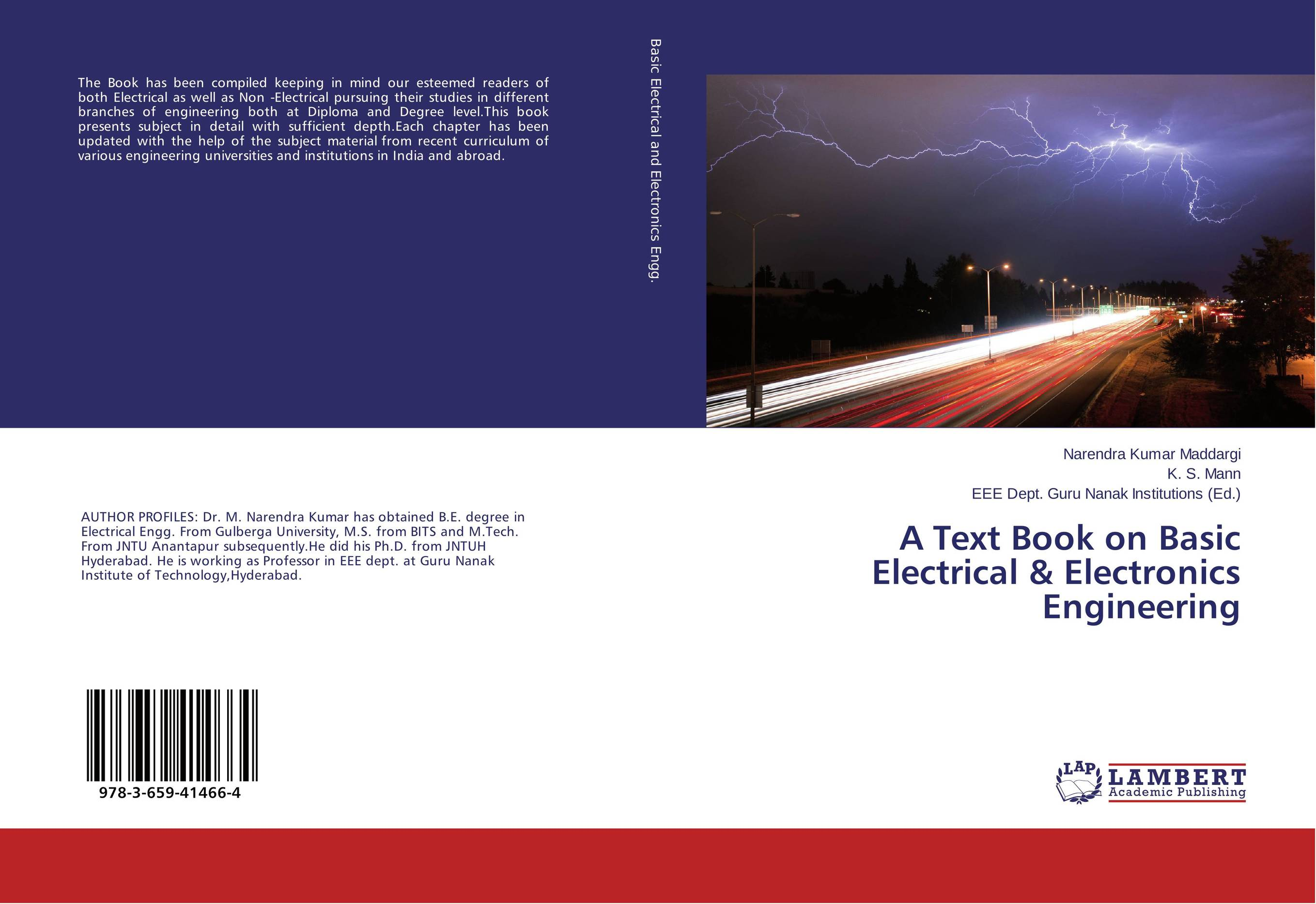 A Text Book on Basic Electrical & Electronics Engineering juan martinez vega dielectric materials for electrical engineering