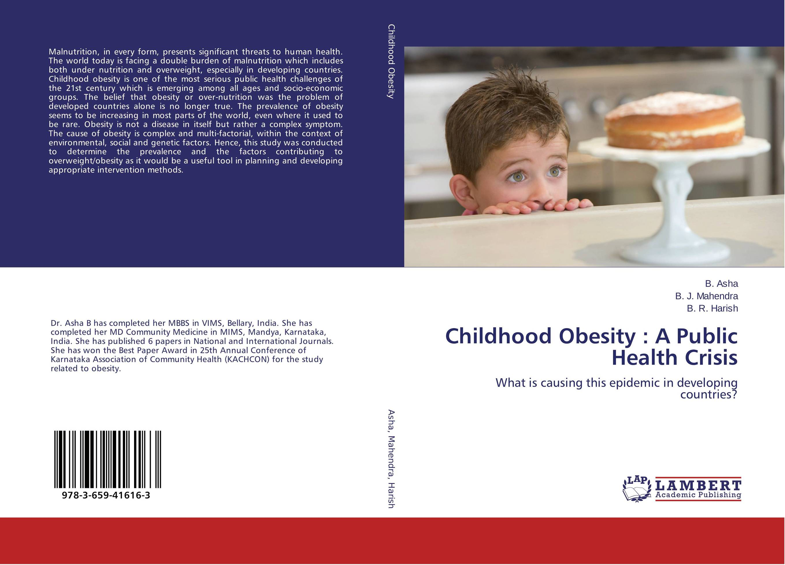 Childhood Obesity : A Public Health Crisis developing networks in obesity using text mining
