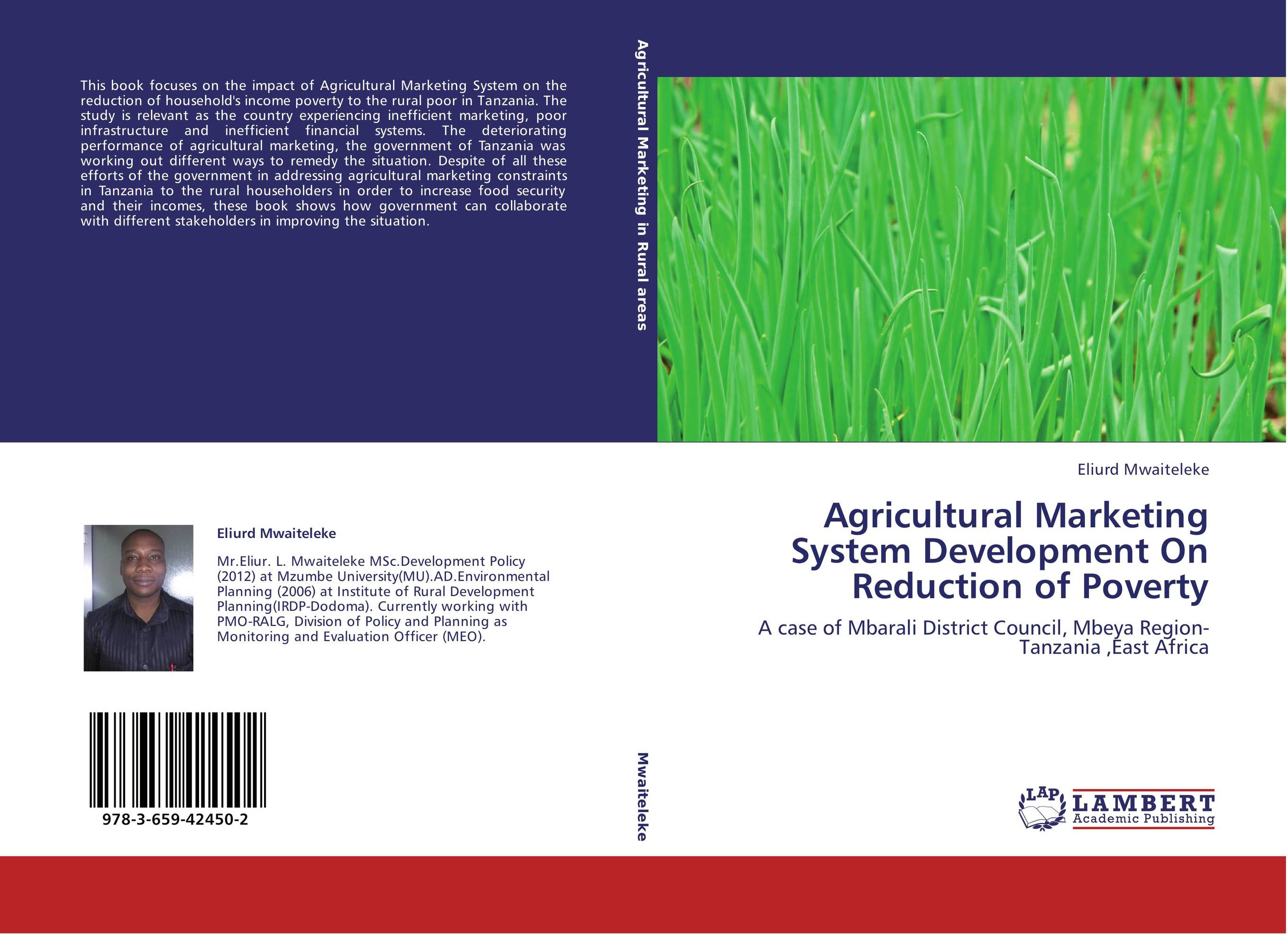 Agricultural Marketing System Development On Reduction of Poverty agricultural marketing management