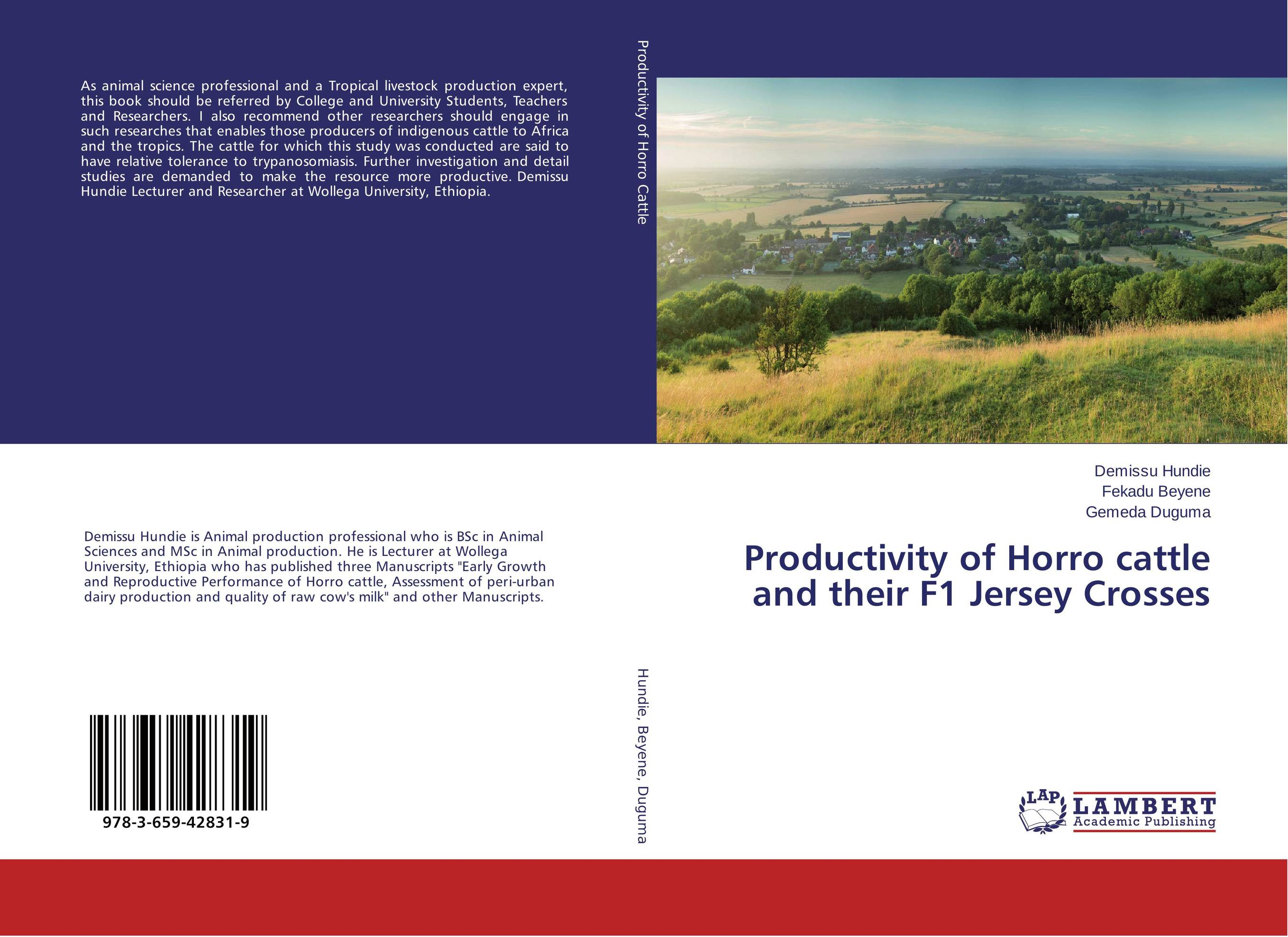 цена на Productivity of Horro cattle and their F1 Jersey Crosses