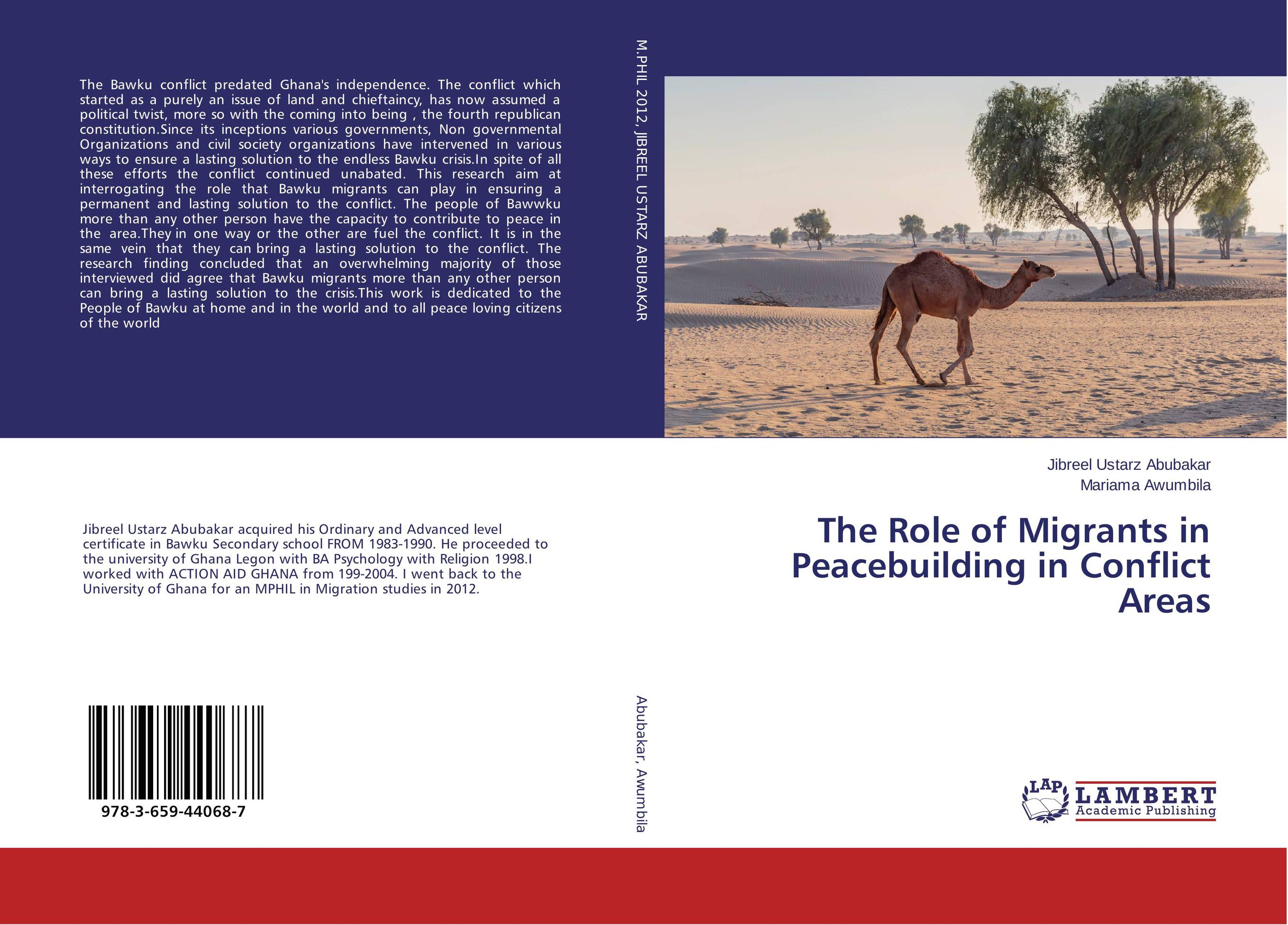 The Role of Migrants in Peacebuilding in Conflict Areas the role of the military in the political conflict in lesotho