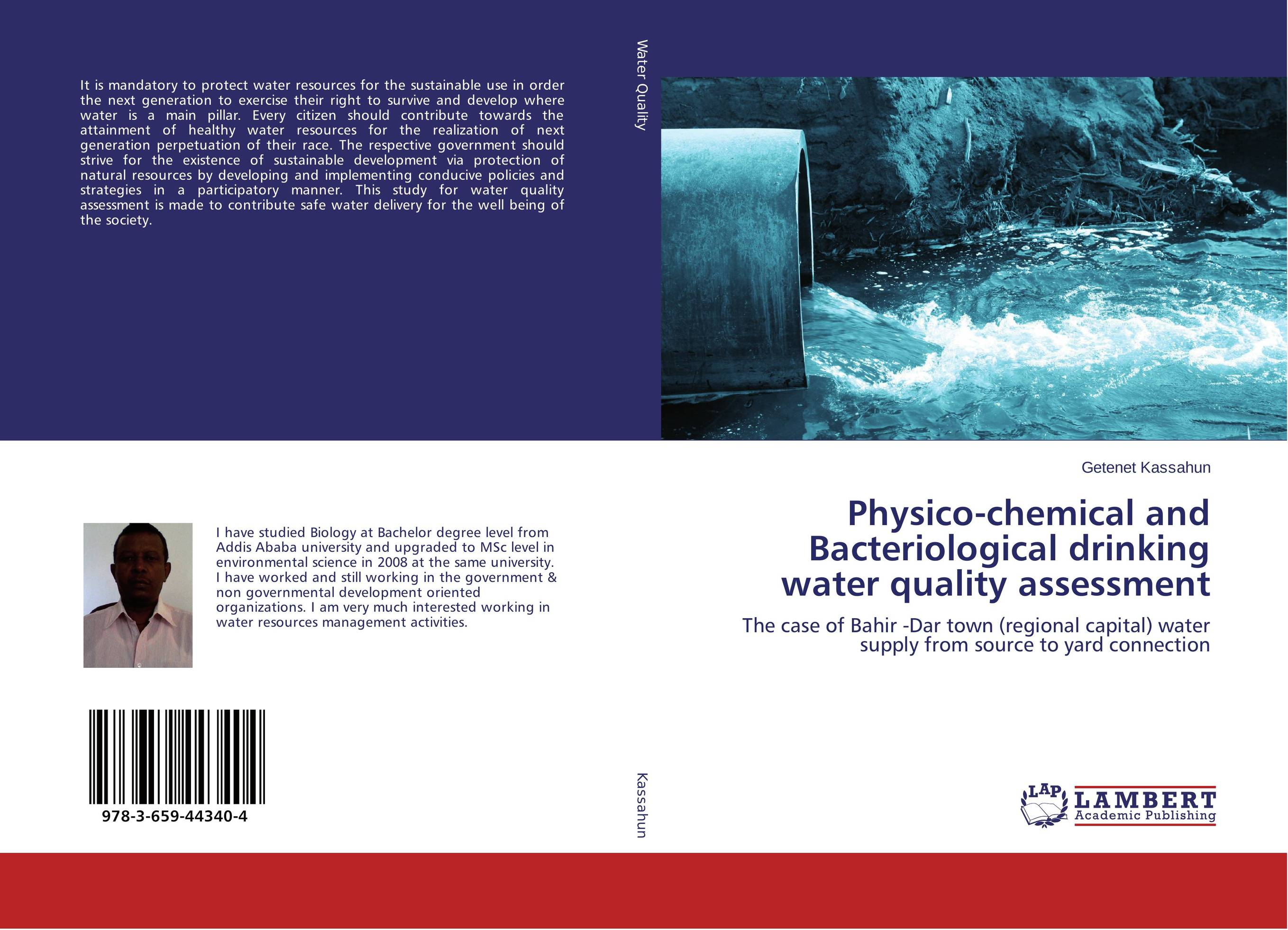 Physico-chemical and Bacteriological drinking water quality assessment купить