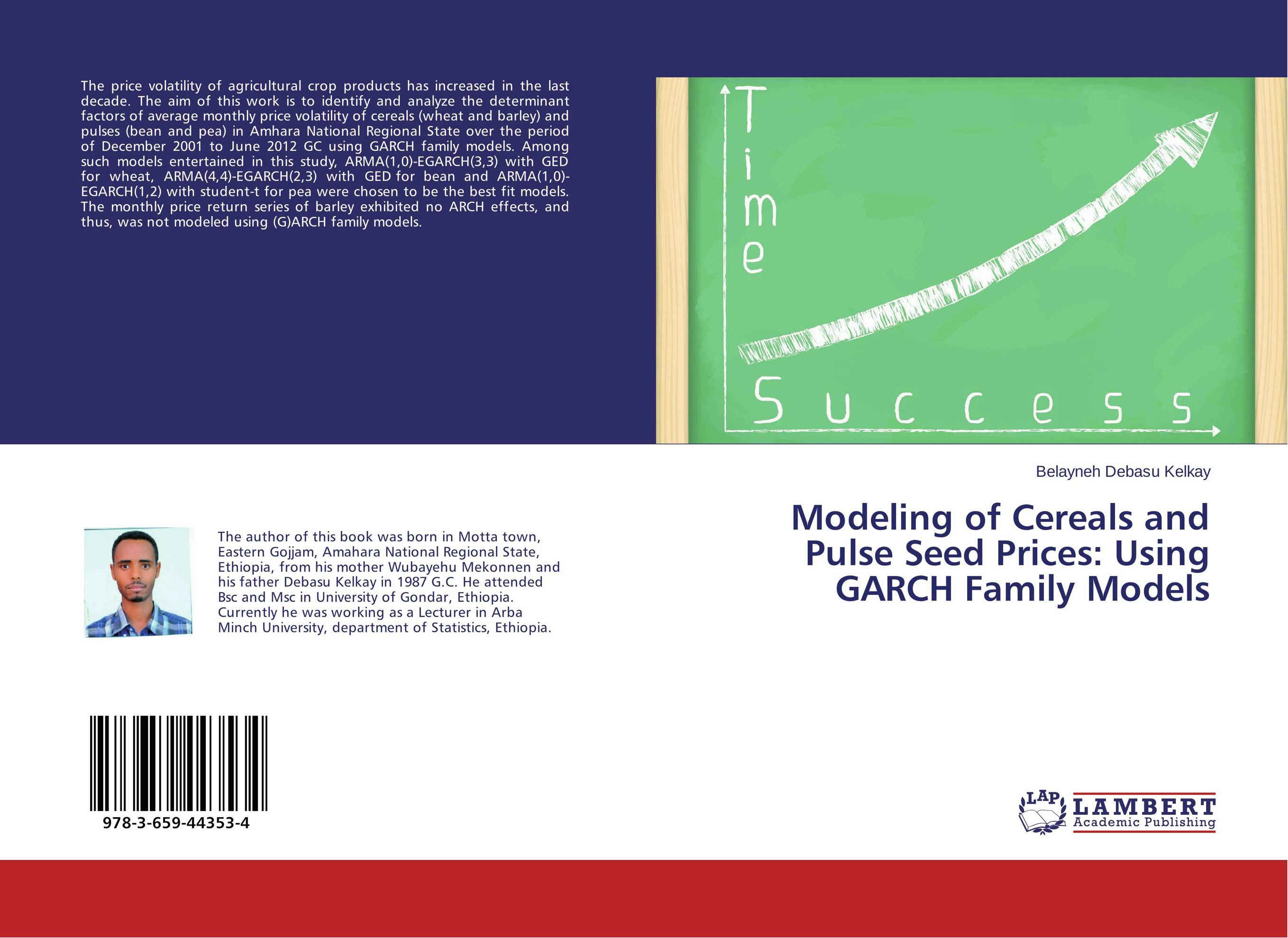 Modeling of Cereals and Pulse Seed Prices: Using GARCH Family Models