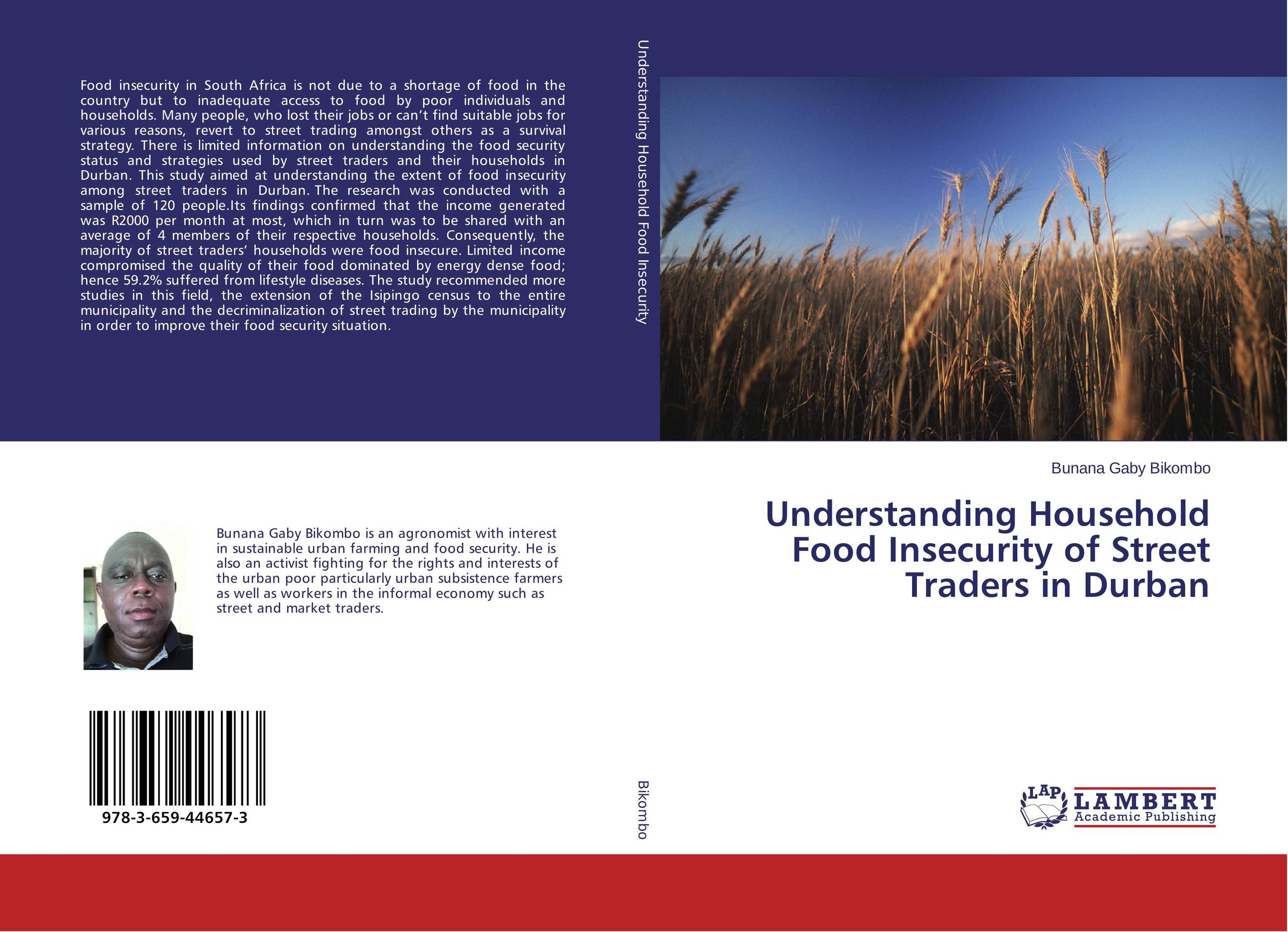 Understanding Household Food Insecurity of Street Traders in Durban street food vendors