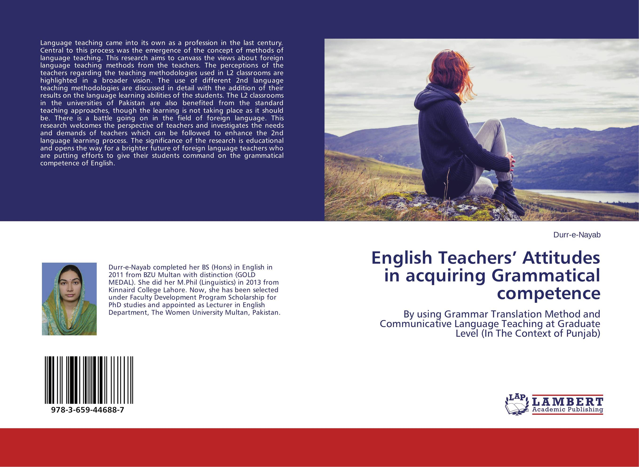 English Teachers' Attitudes in acquiring Grammatical competence james wasajja the english language communicative needs among international students