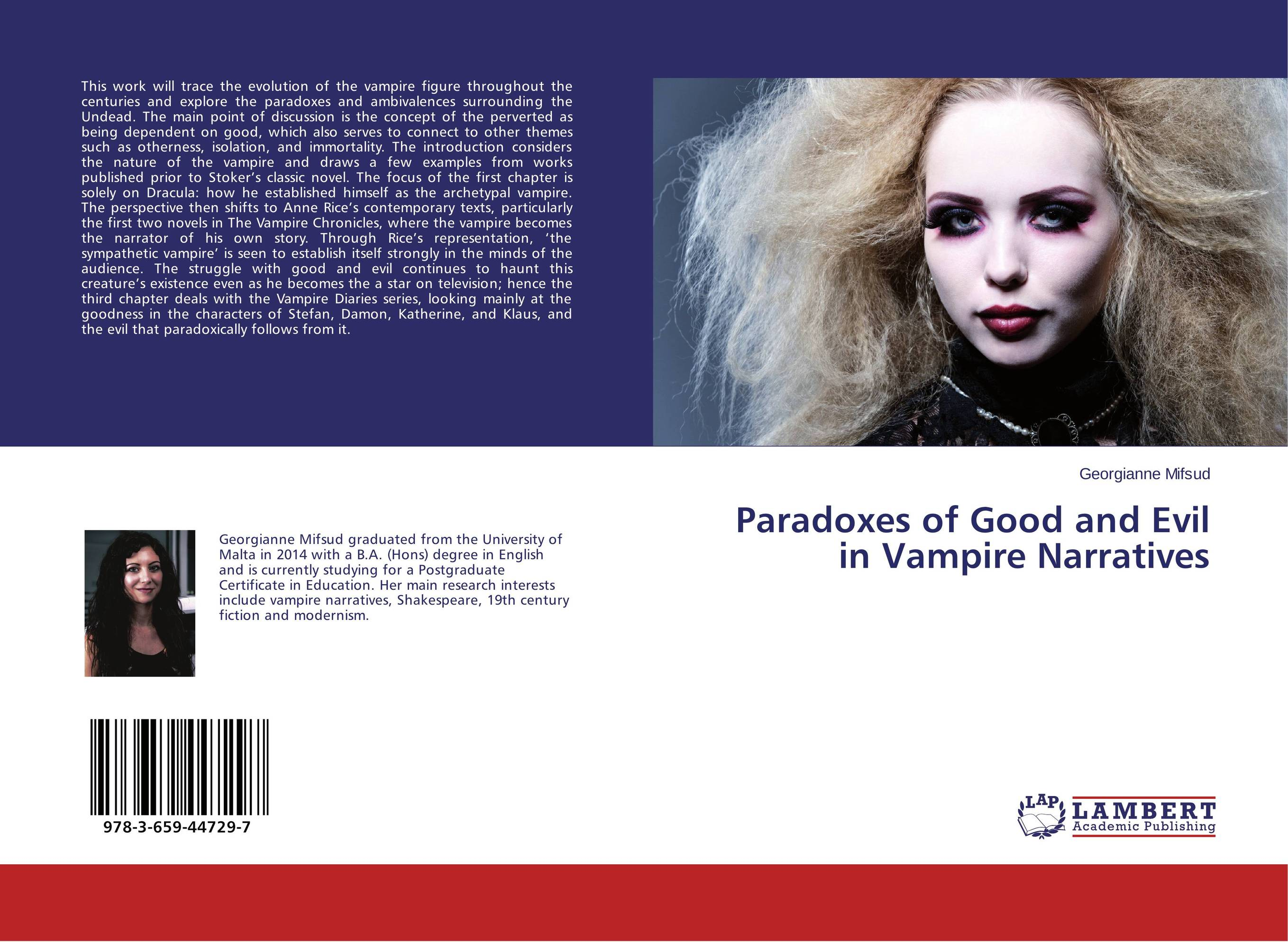 Paradoxes of Good and Evil in Vampire Narratives vampire hunter d volume 6 pilgrimage of the sacred and the profane