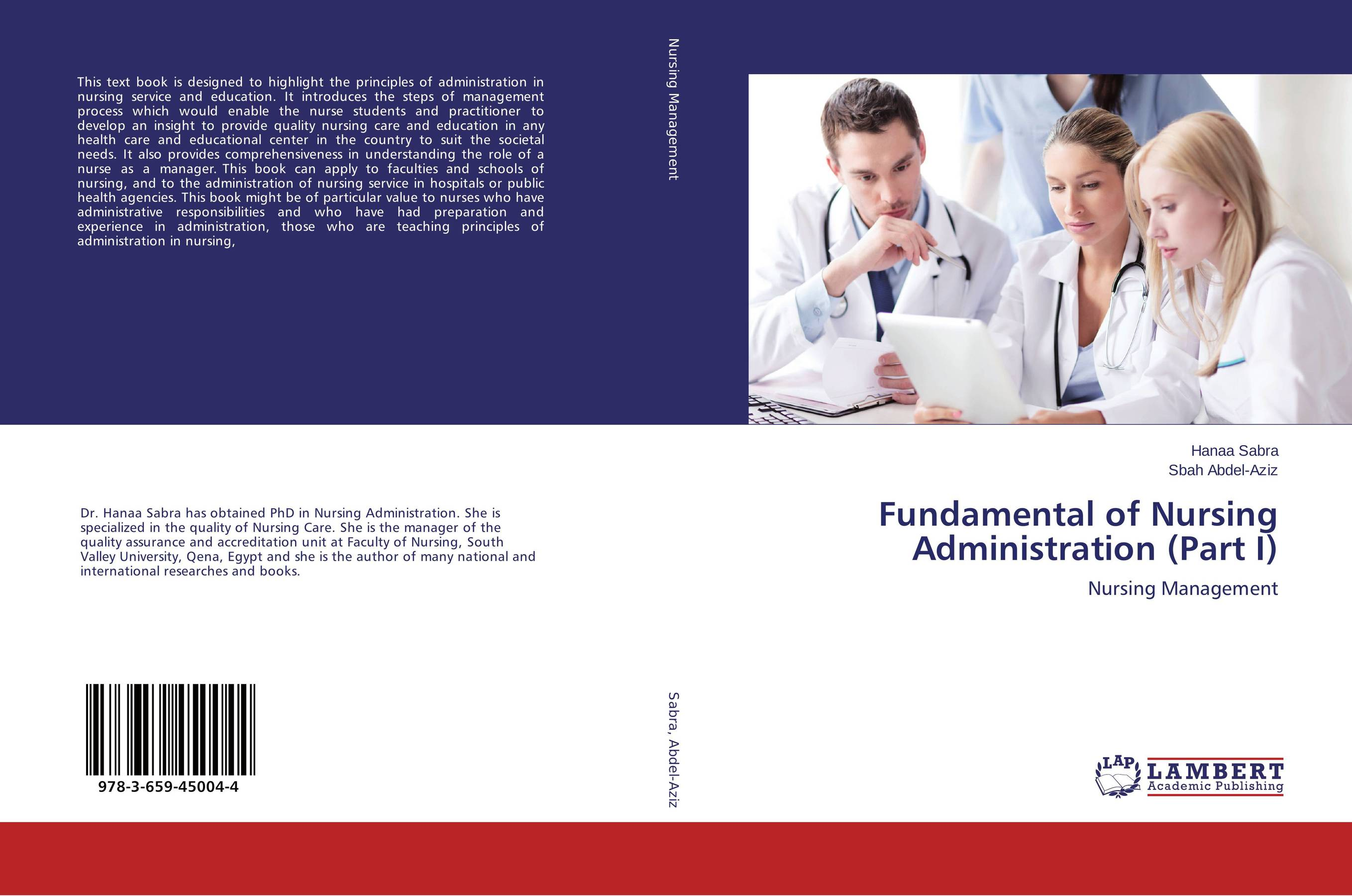 Fundamental of Nursing Administration (Part I) administration of public health institutions