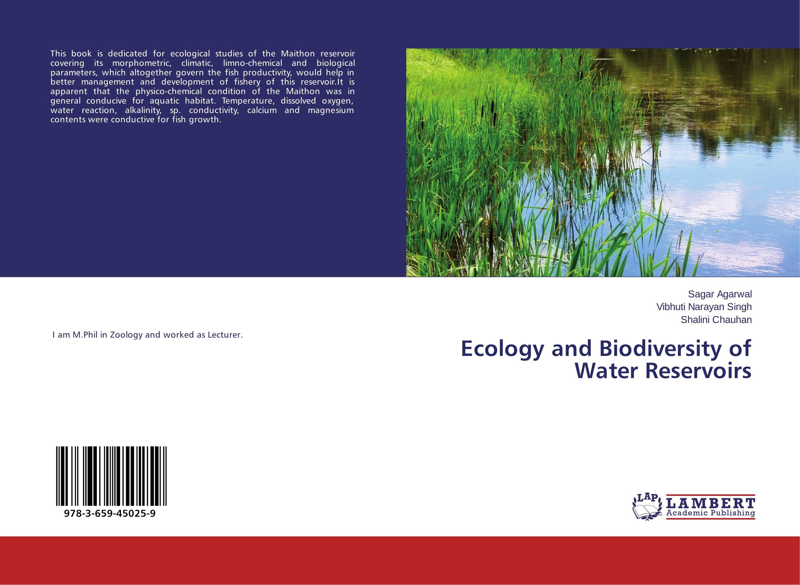 Ecology and Biodiversity of Water Reservoirs prabal barua ecology biodiversity and pollution of indian sundarbans