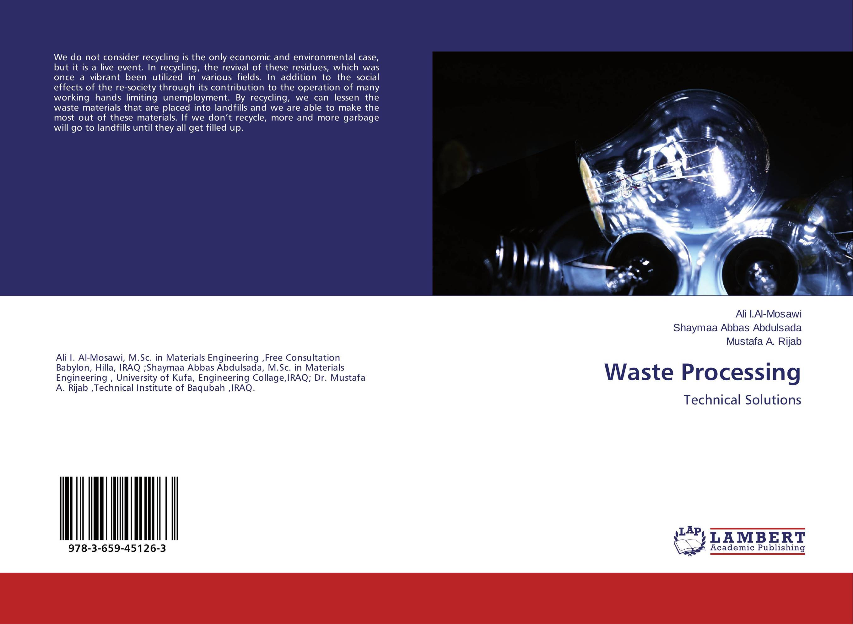 Waste Processing recycling of waste materials