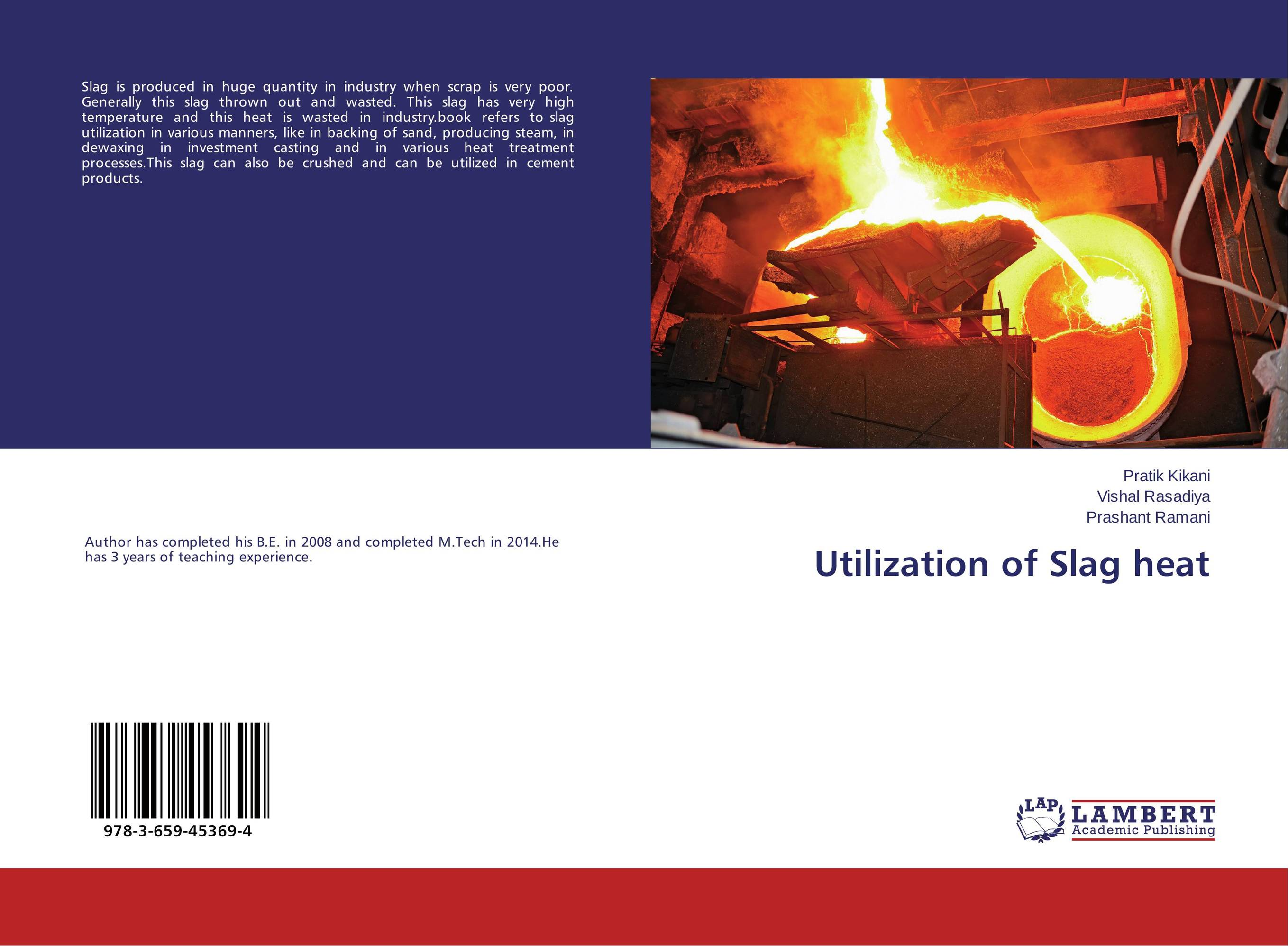 Utilization of Slag heat