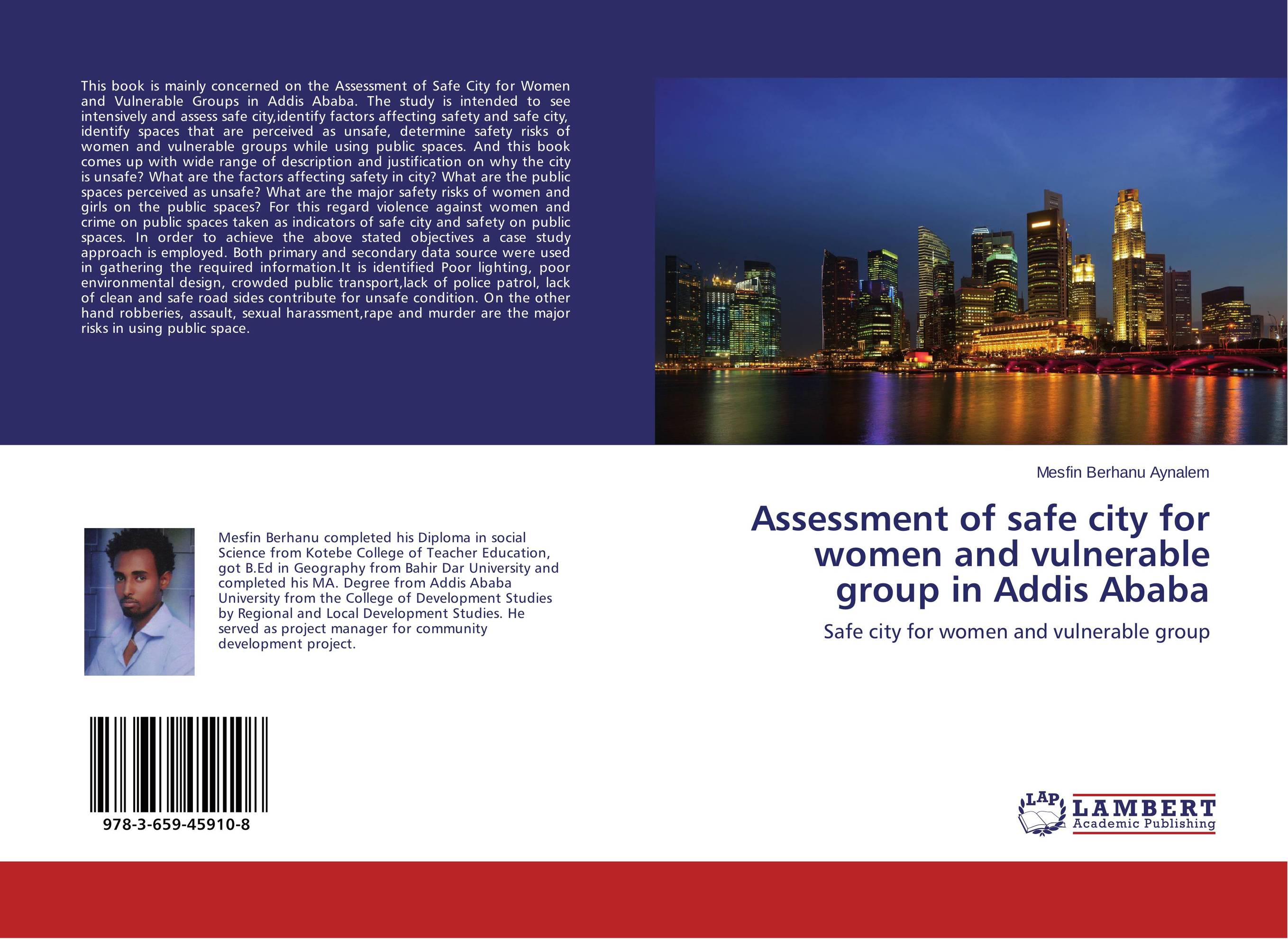 Assessment of safe city for women and vulnerable group in Addis Ababa