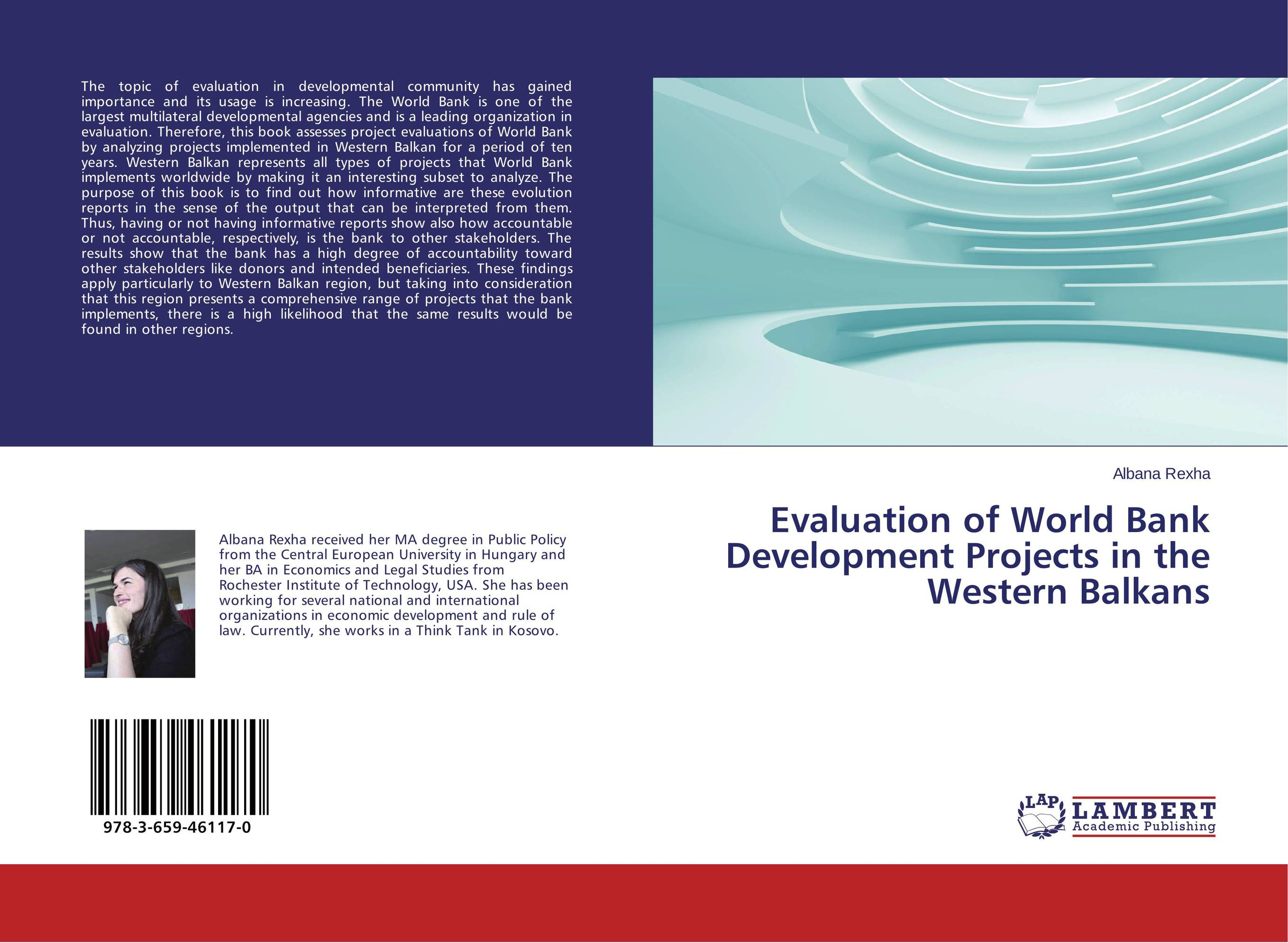 Evaluation of World Bank Development Projects in the Western Balkans world bank world development report 2004 making services work for poor people