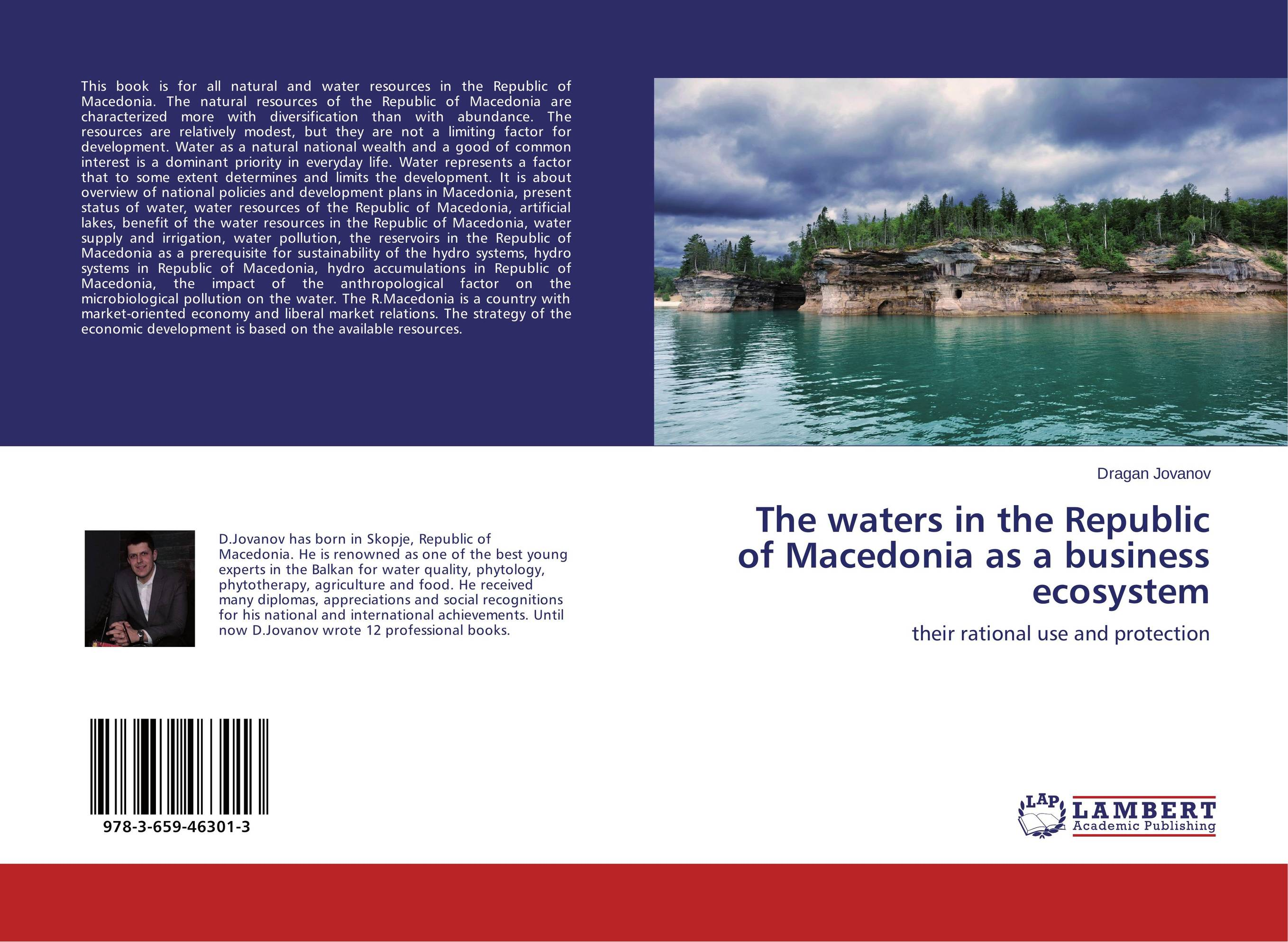 The waters in the Republic of Macedonia as a business ecosystem