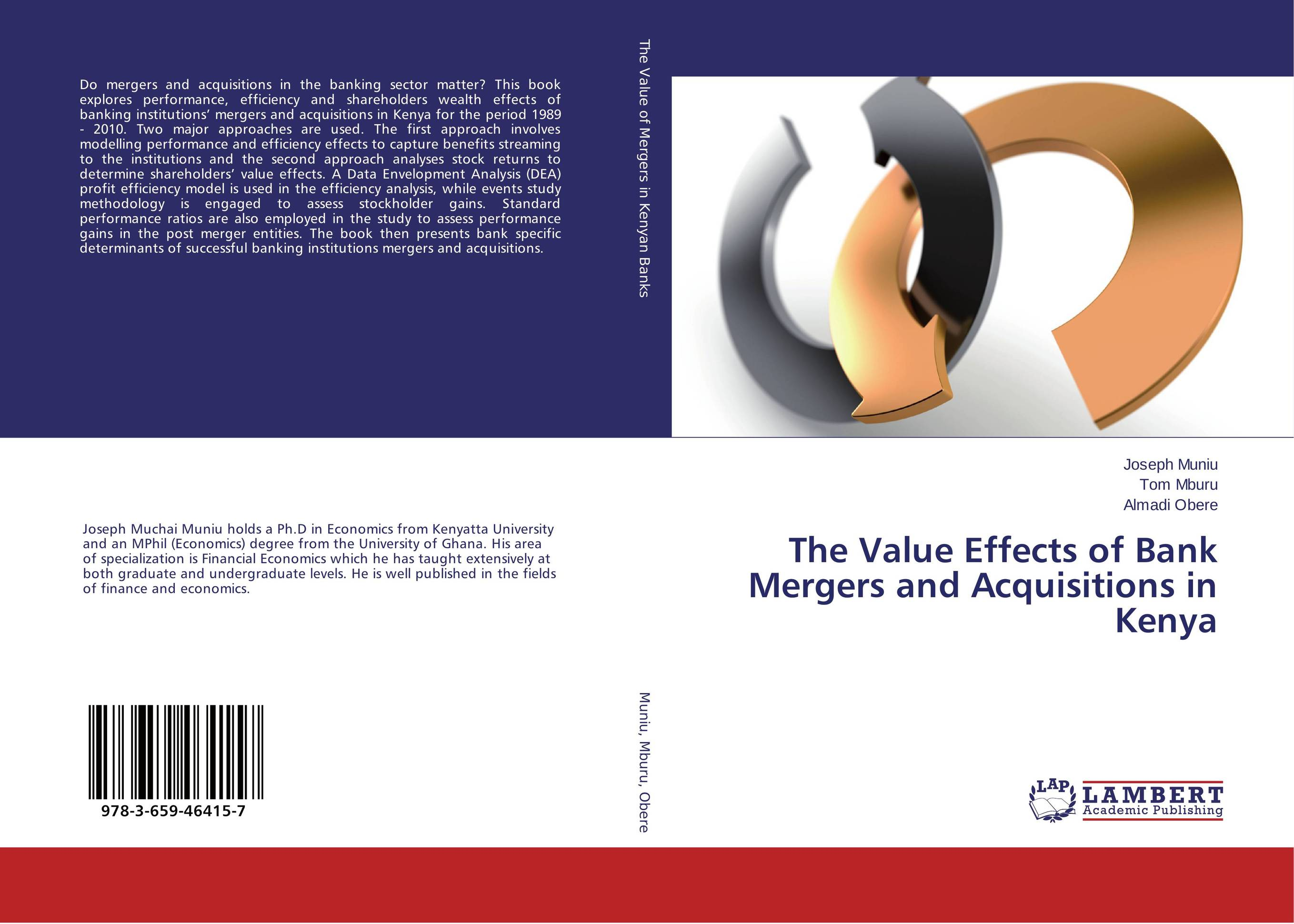 The Value Effects of Bank Mergers and Acquisitions in Kenya цена и фото