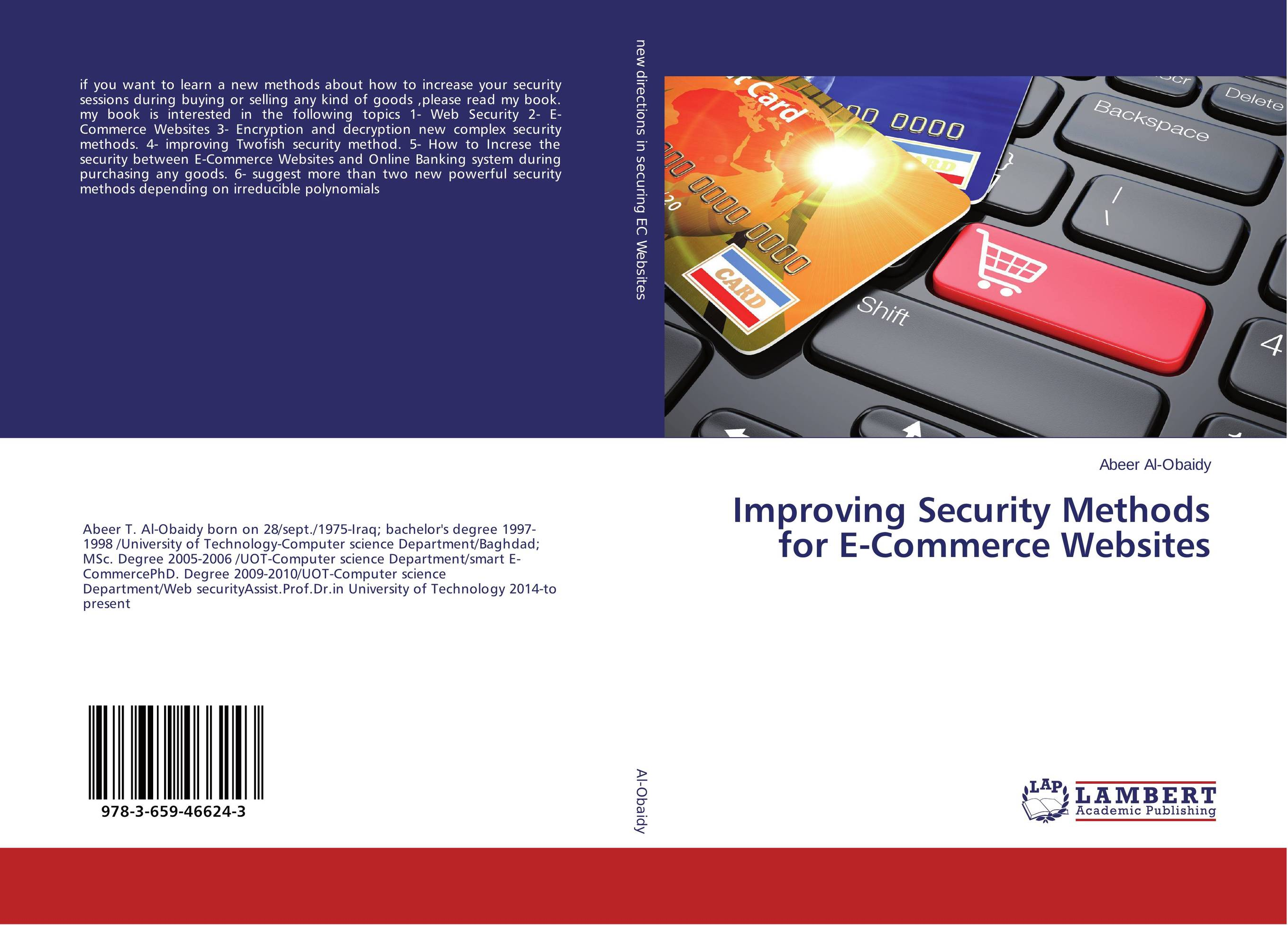 Improving Security Methods for E-Commerce Websites цена 2017