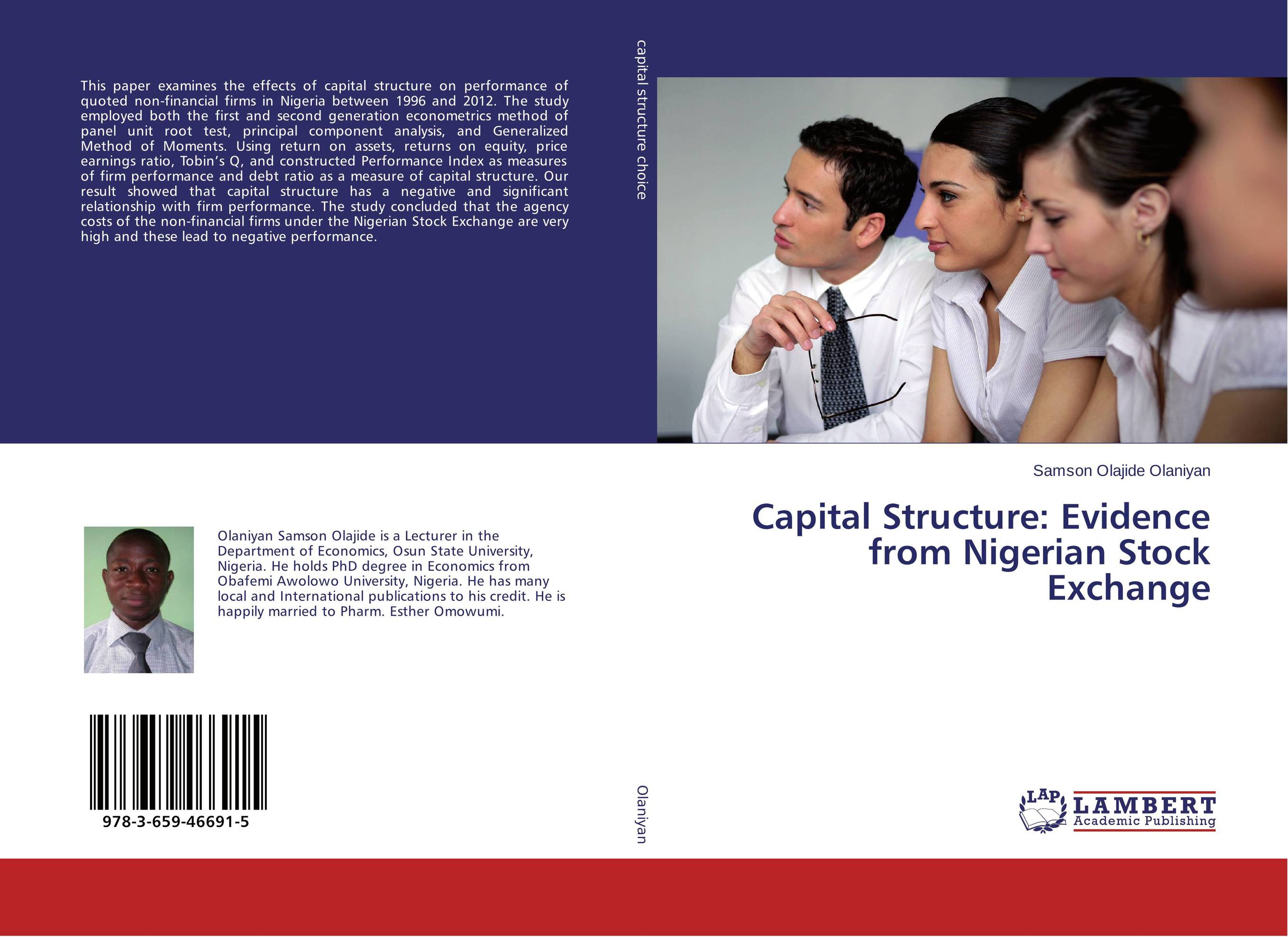 Capital Structure: Evidence from Nigerian Stock Exchange capital structure and risk dynamics among banks