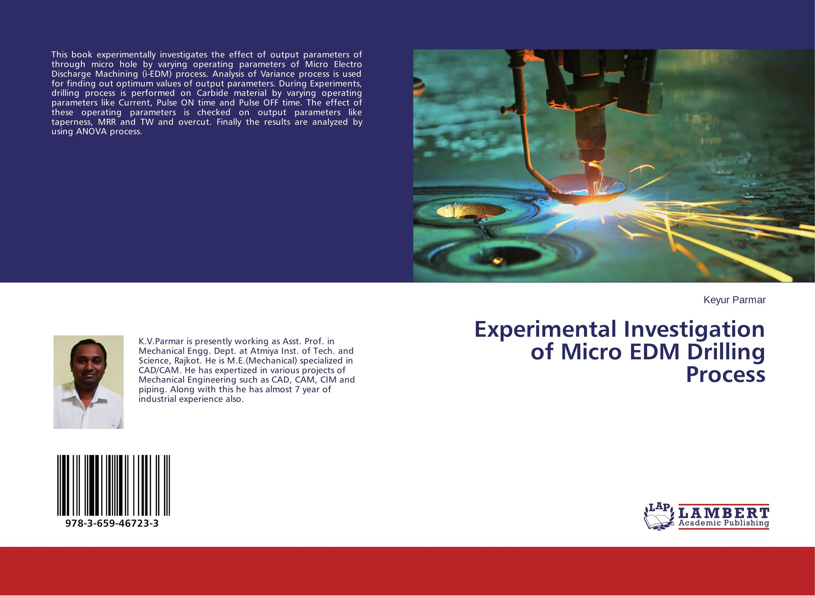 Фото Experimental Investigation of Micro EDM Drilling Process effect of ashes on micro structure and mechanical properties of lm24
