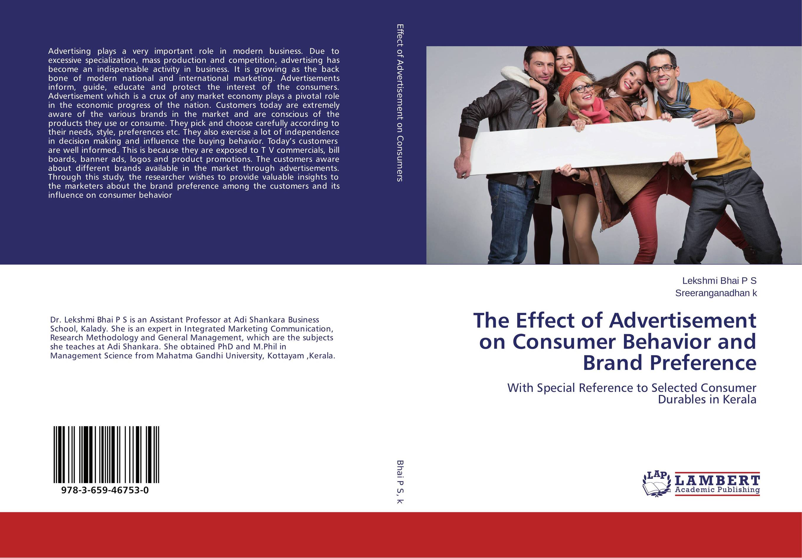 The Effect of Advertisement on Consumer Behavior and Brand Preference the effect of advertisement on consumer behavior and brand preference