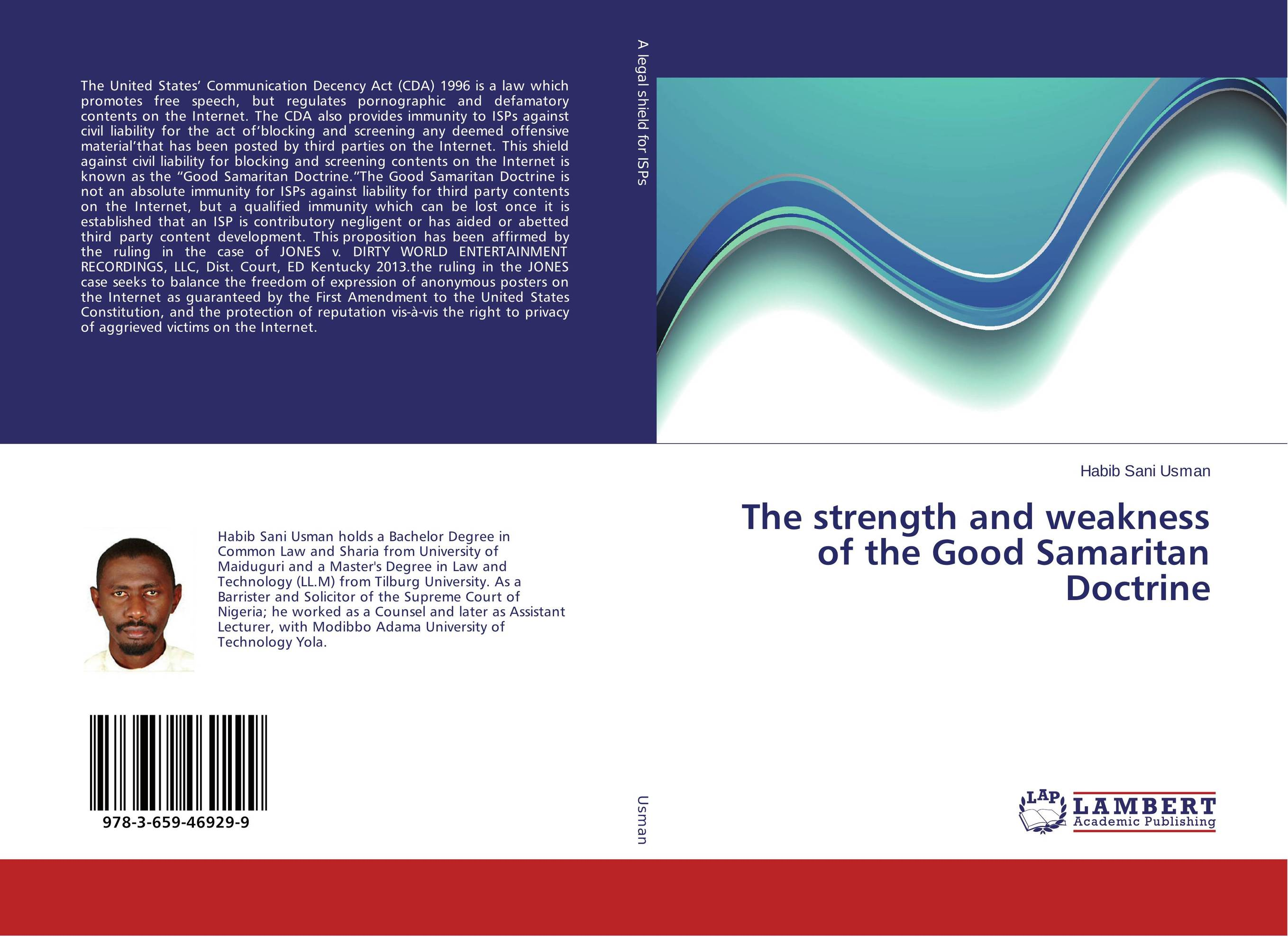 The strength and weakness of the Good Samaritan Doctrine russound isps