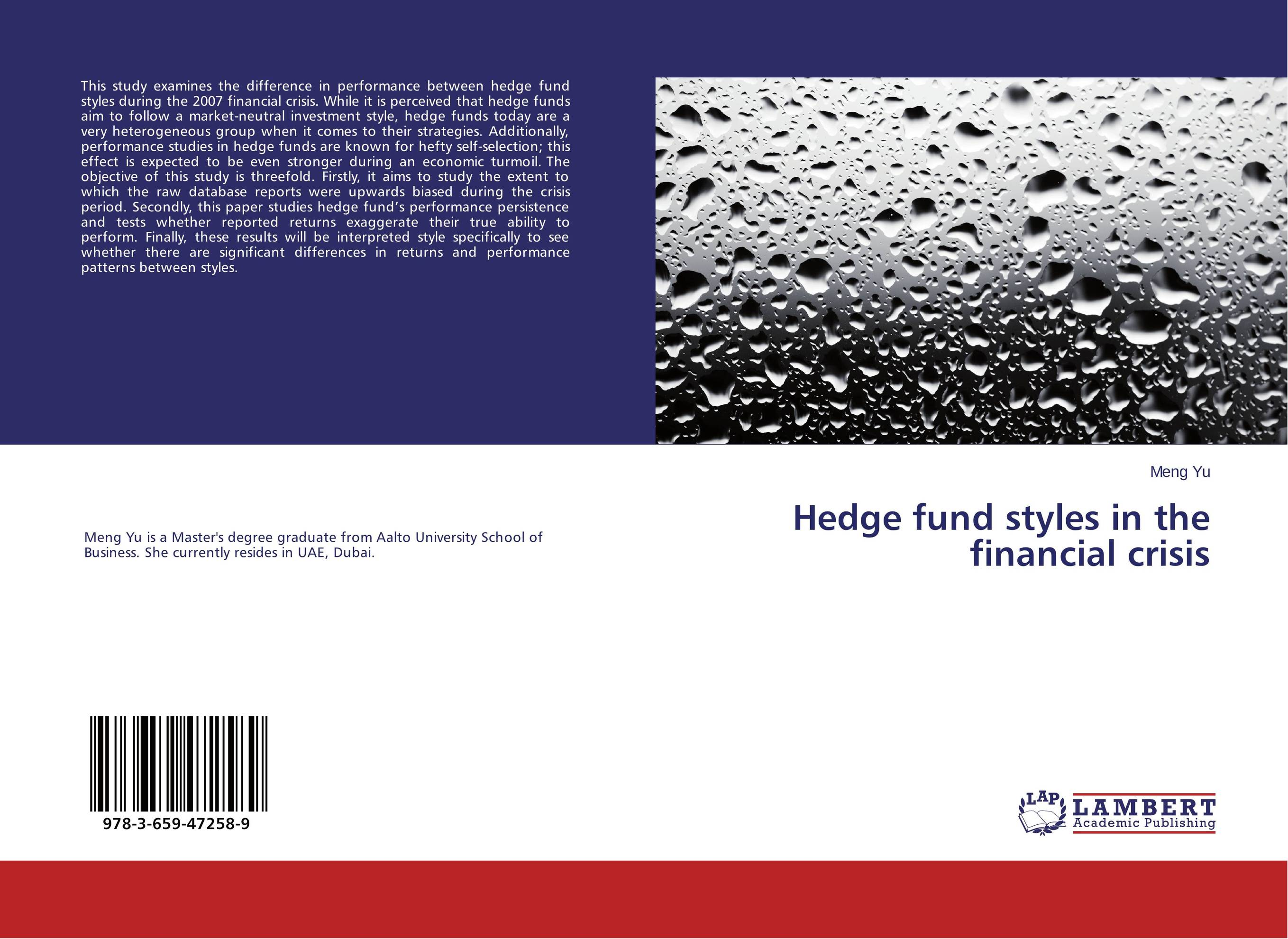 Hedge fund styles in the financial crisis sean casterline d investor s passport to hedge fund profits unique investment strategies for today s global capital markets