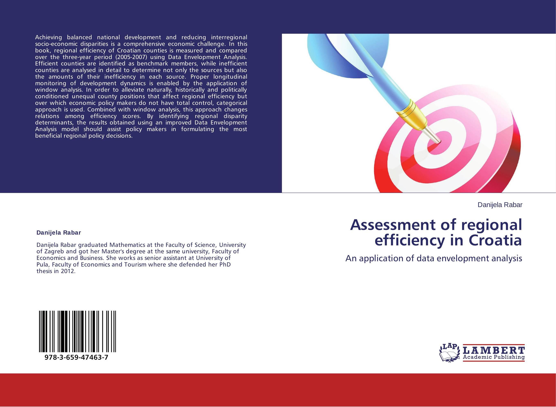 Assessment of regional efficiency in Croatia