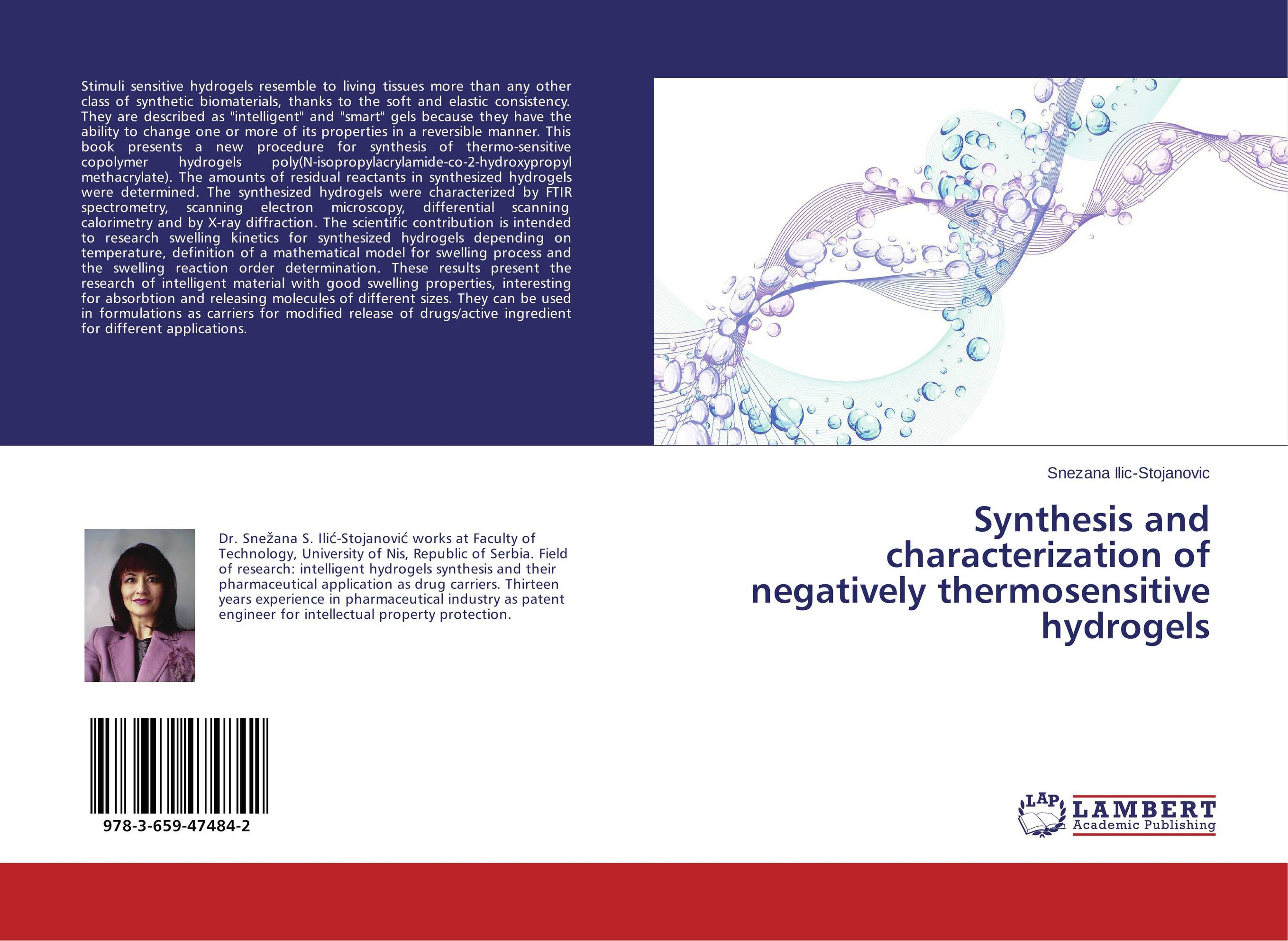 Synthesis and characterization of negatively thermosensitive hydrogels synthesis characterization and applications of nano cdha
