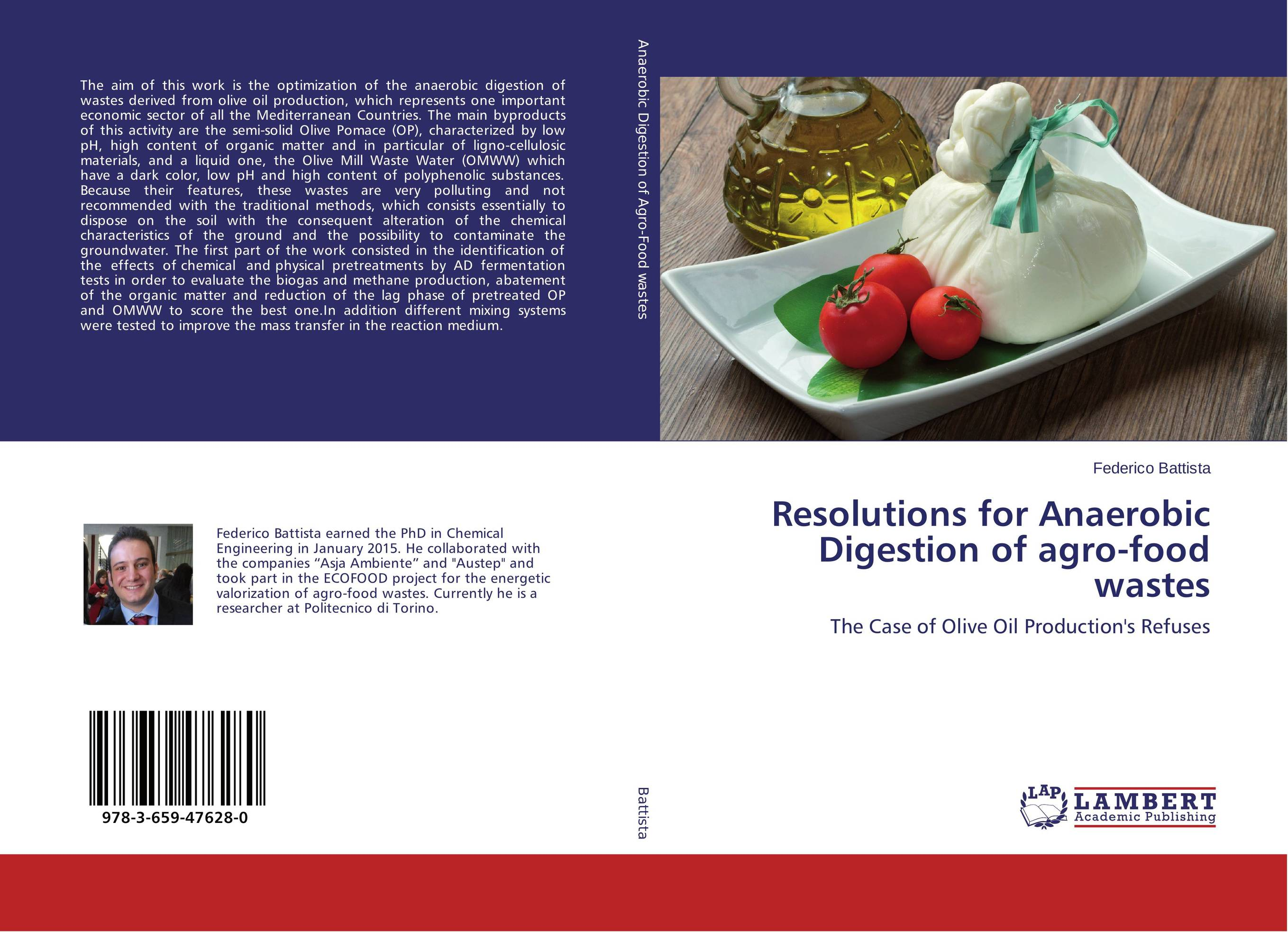 Resolutions for Anaerobic Digestion of agro-food wastes mann dido anaerobic fermentation of spent grains