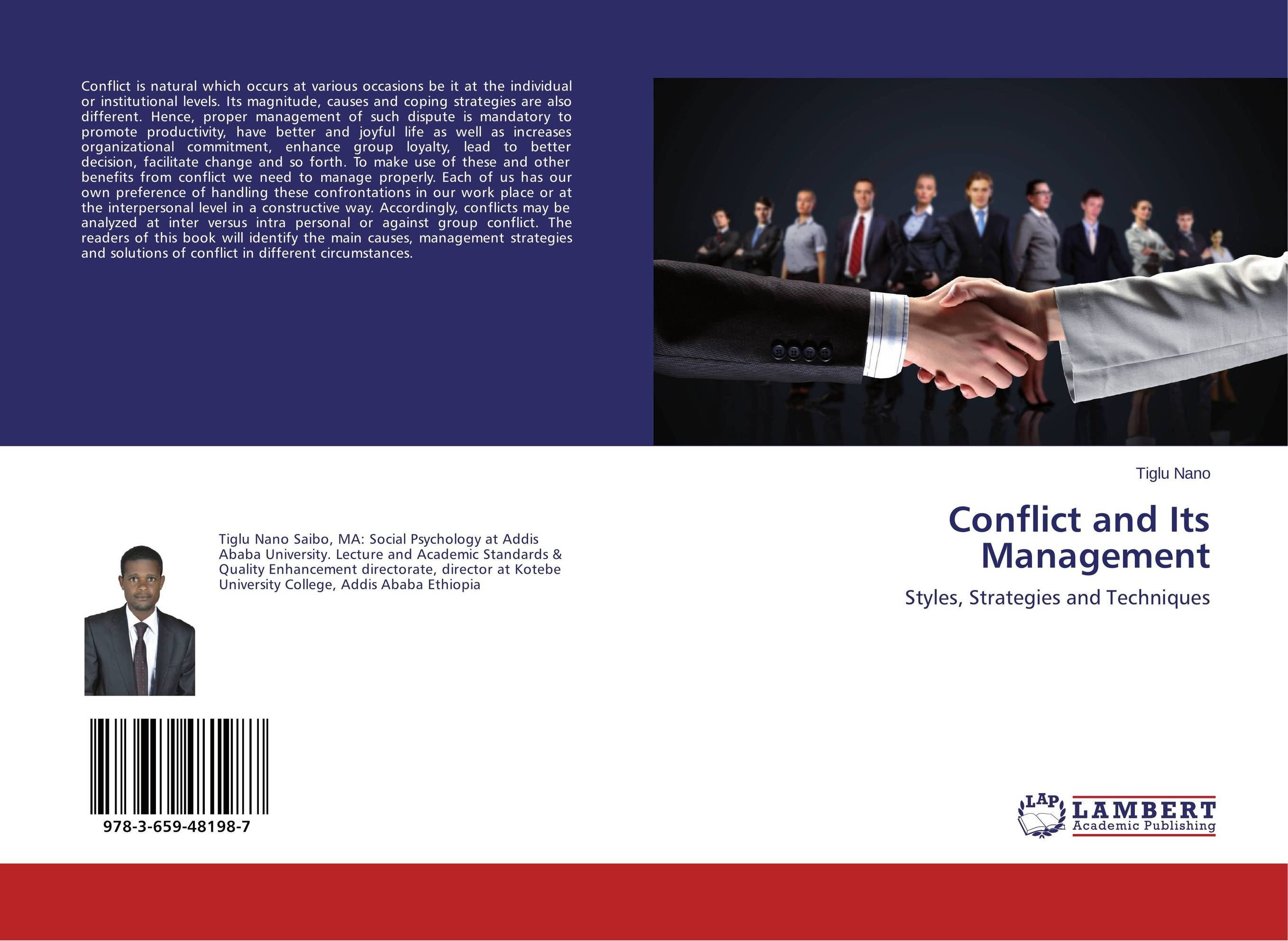 Conflict and Its Management causes and management of psychiatric patients aggression