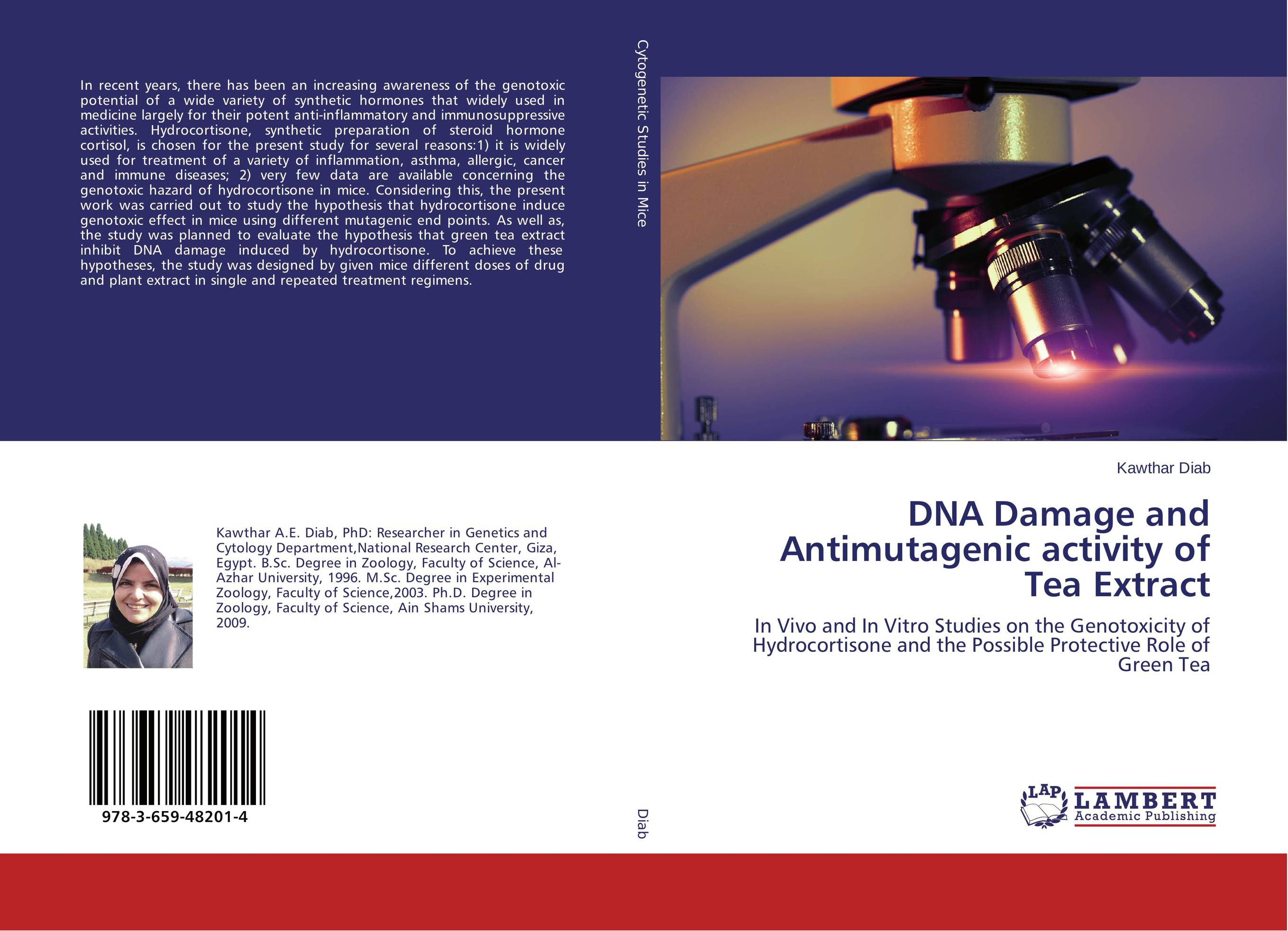 DNA Damage and Antimutagenic activity of Tea Extract genotoxic potential in fishes