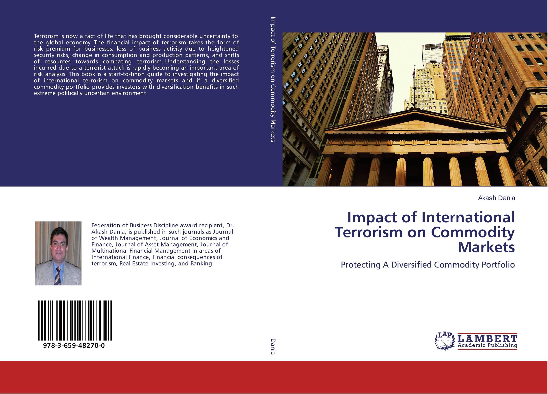 Impact of International Terrorism on Commodity Markets r johnson stafford equity markets and portfolio analysis