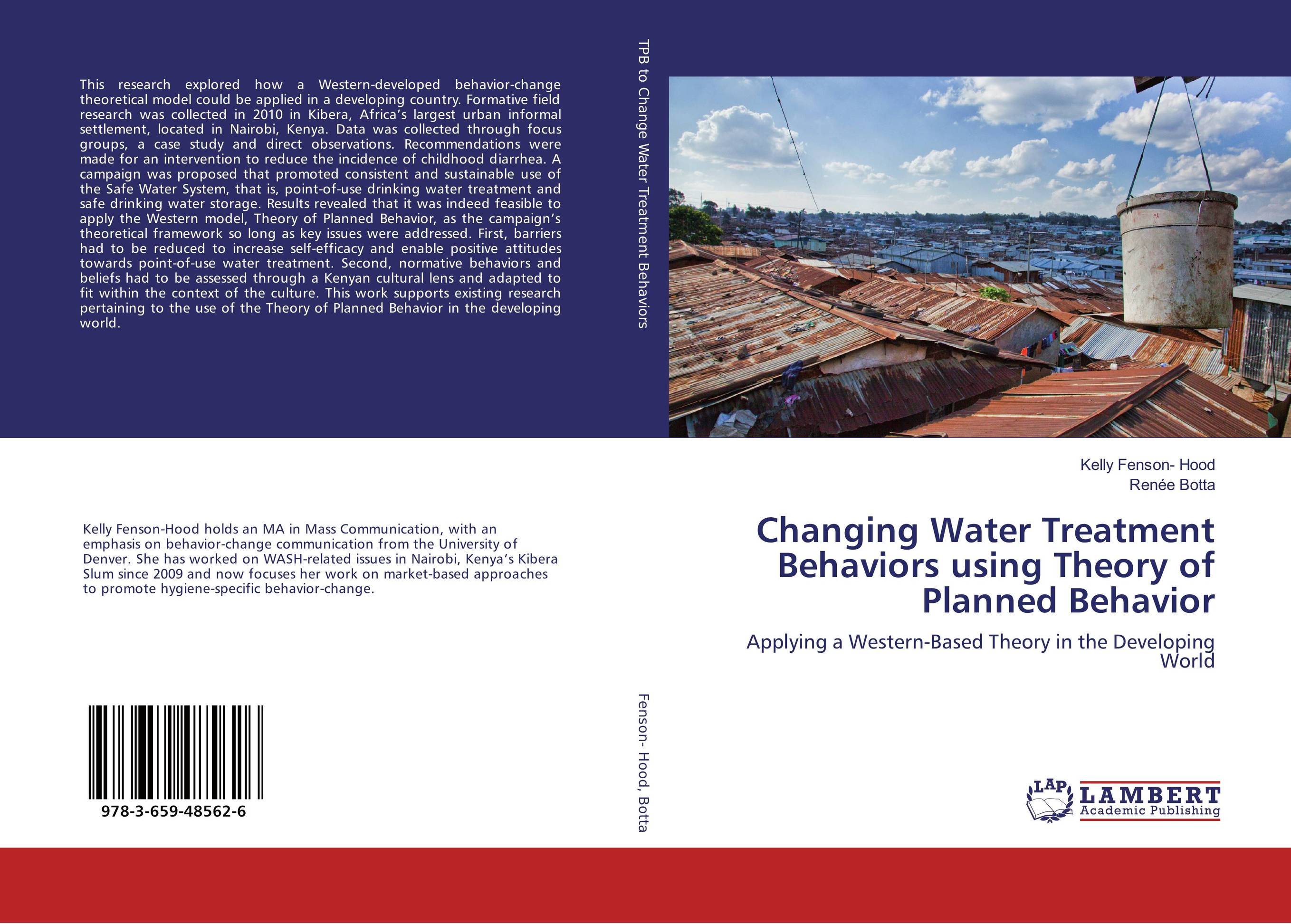 Changing Water Treatment Behaviors using Theory of Planned Behavior bride of the water god v 3